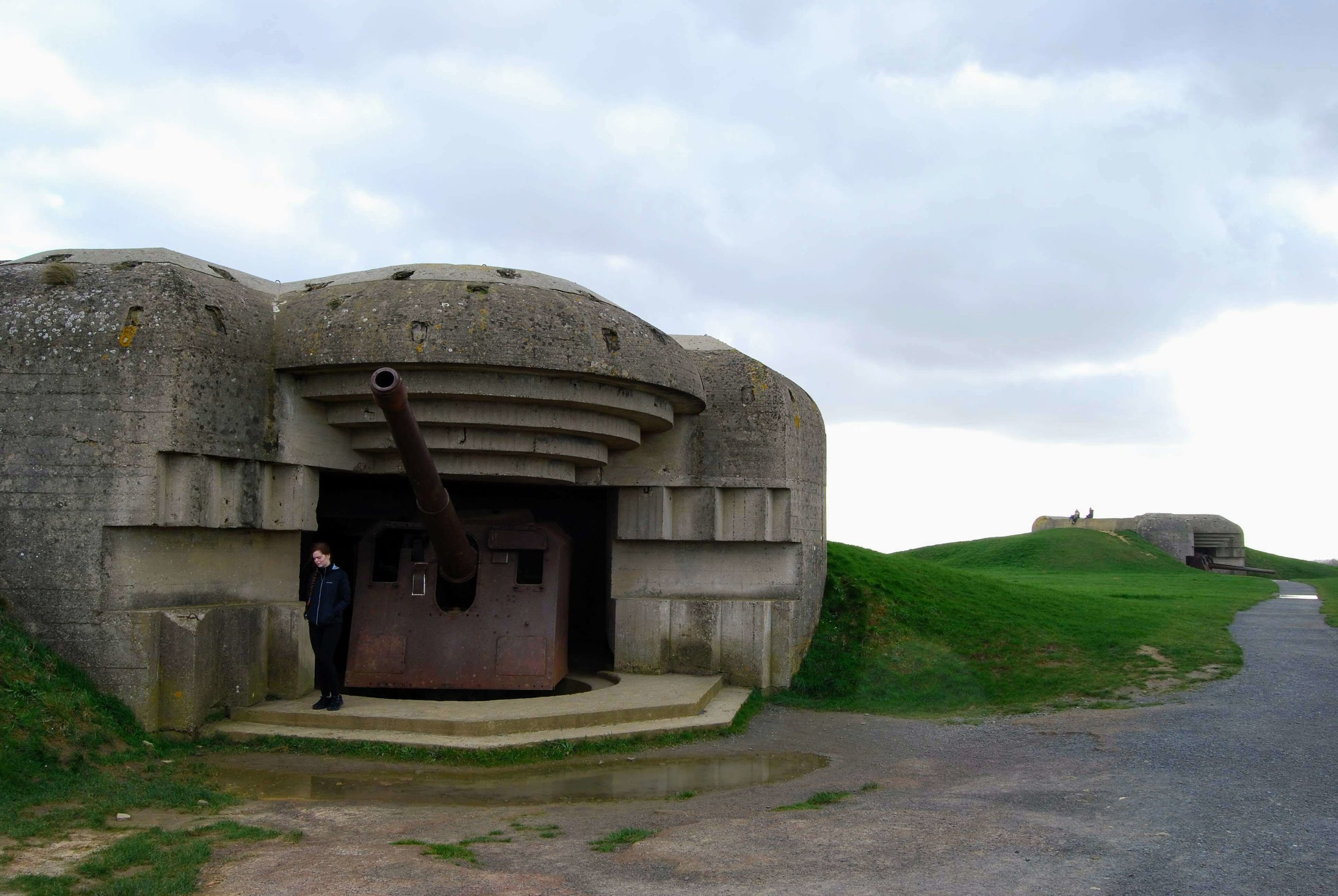 German guns at Longues sur Mer