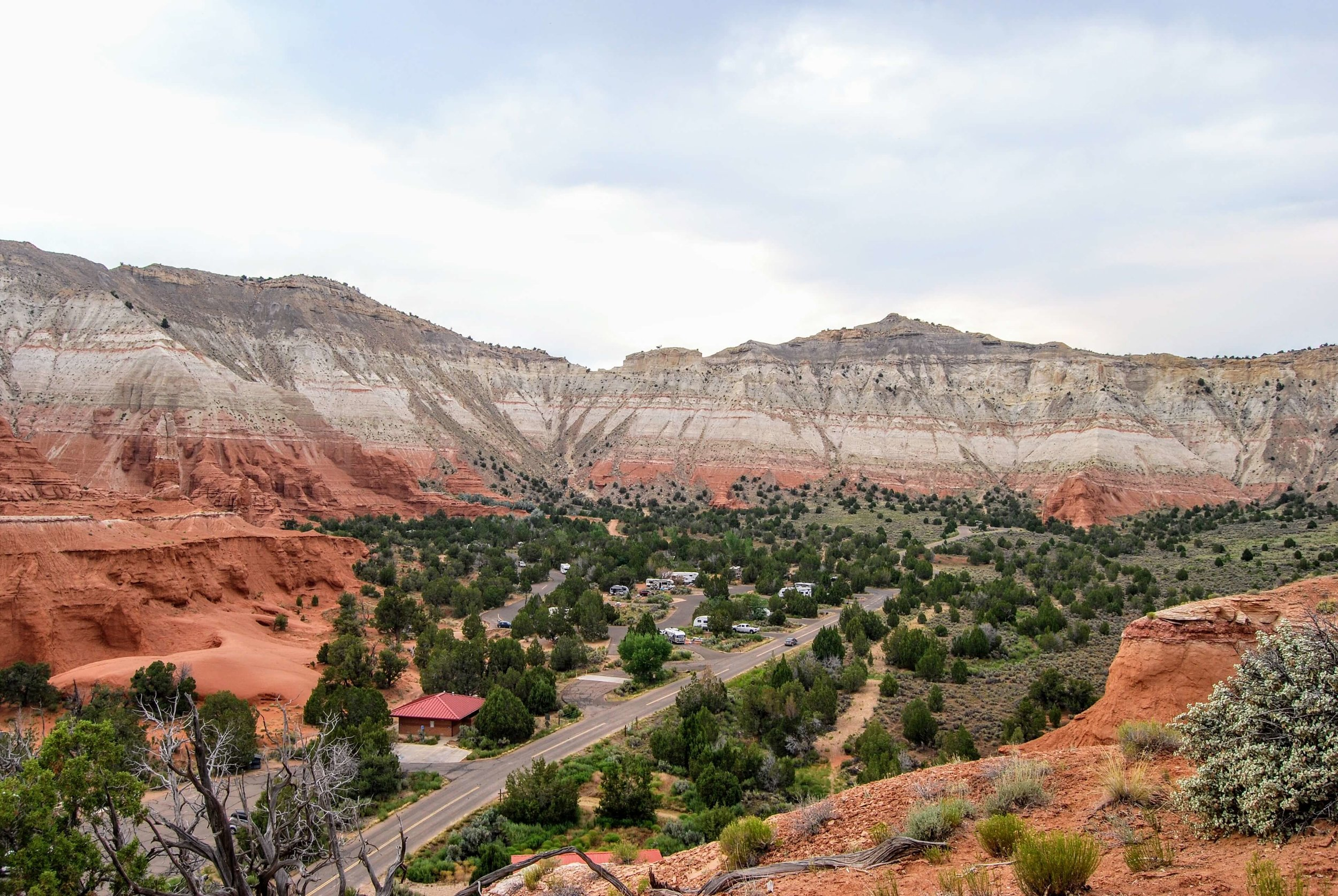 The spectacular scenery of Kodachrome Basin State Park