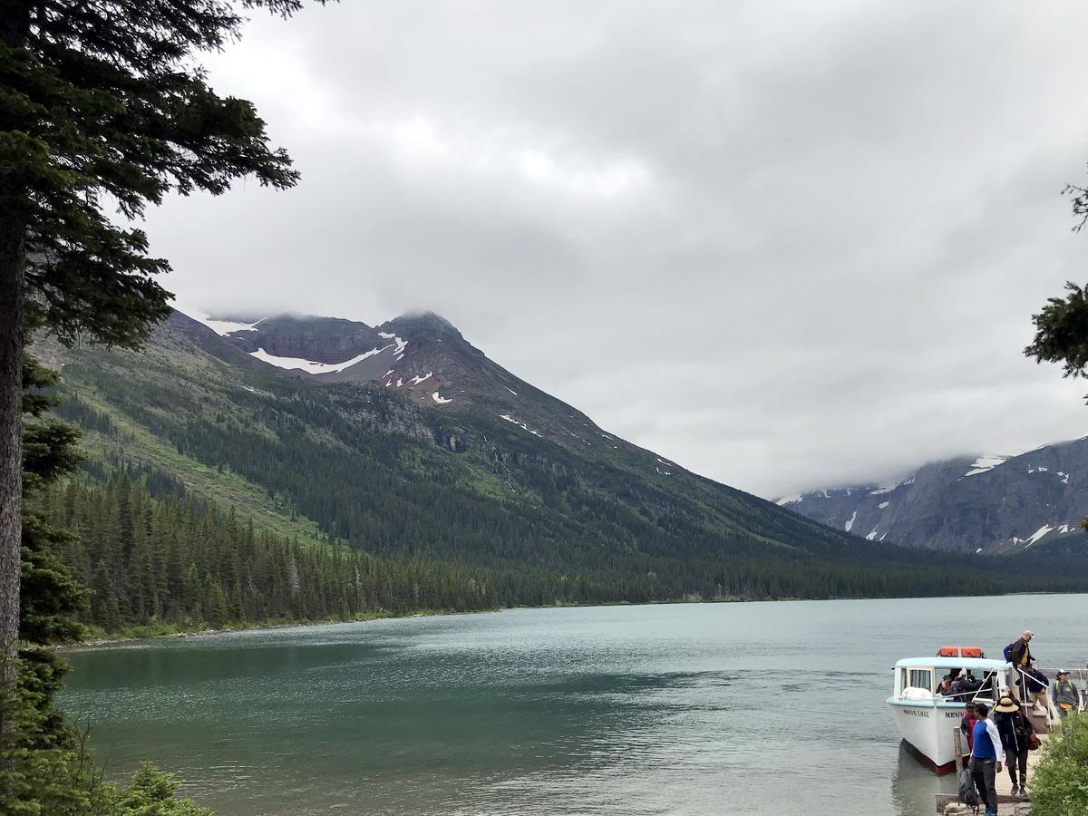 Lake Josephine in Many Glacier