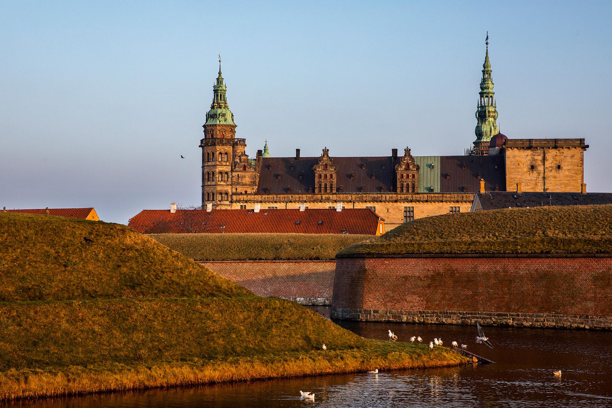 Kronborg,Hamlet's castle. Helsingør, Denmark. 2017