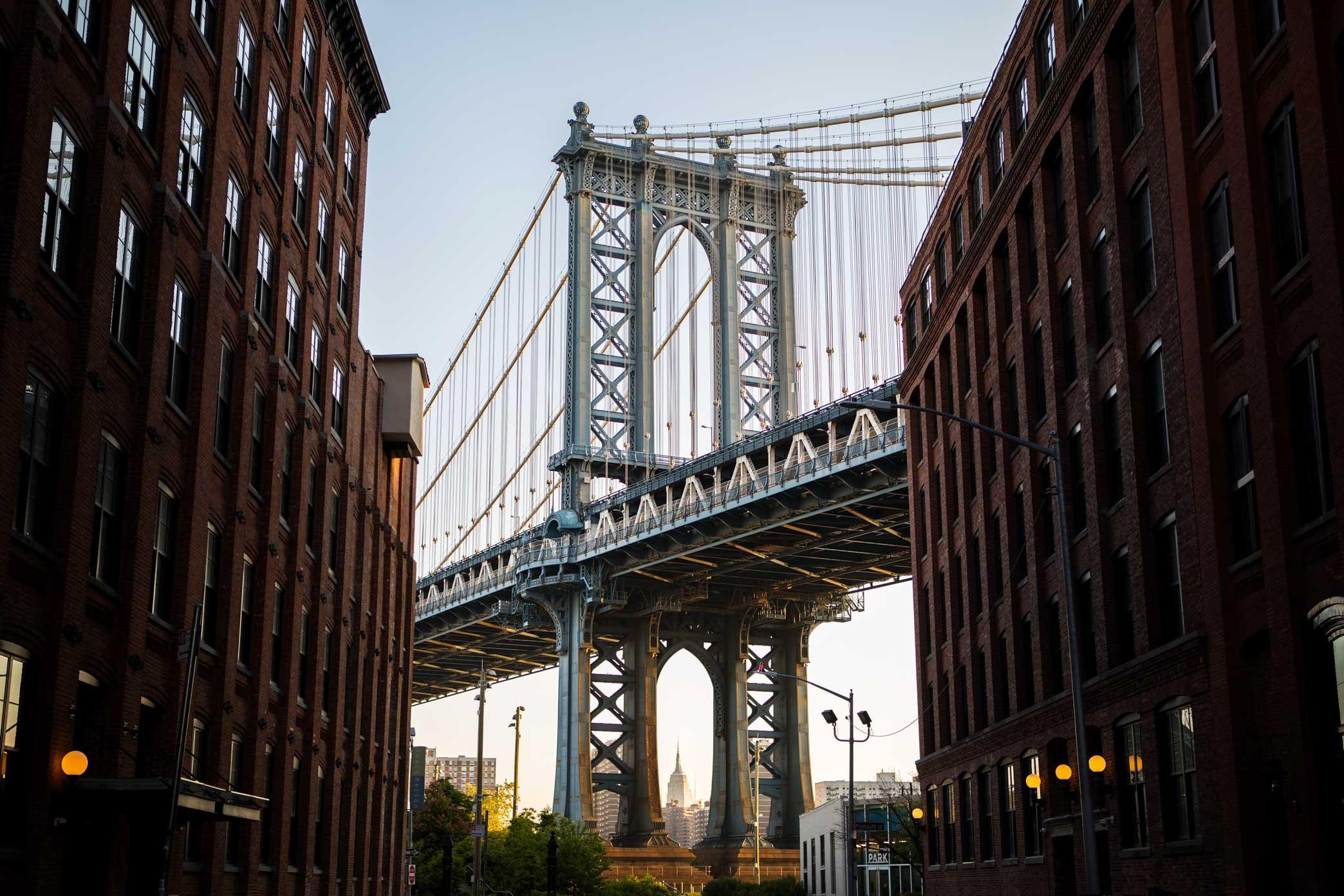 Manhattan Bridge.Brooklyn, New York. 2017