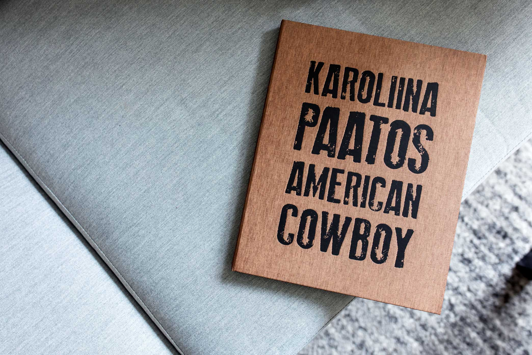 Coffee & A Photo Book - Karoliina Paatos' American Cowboy
