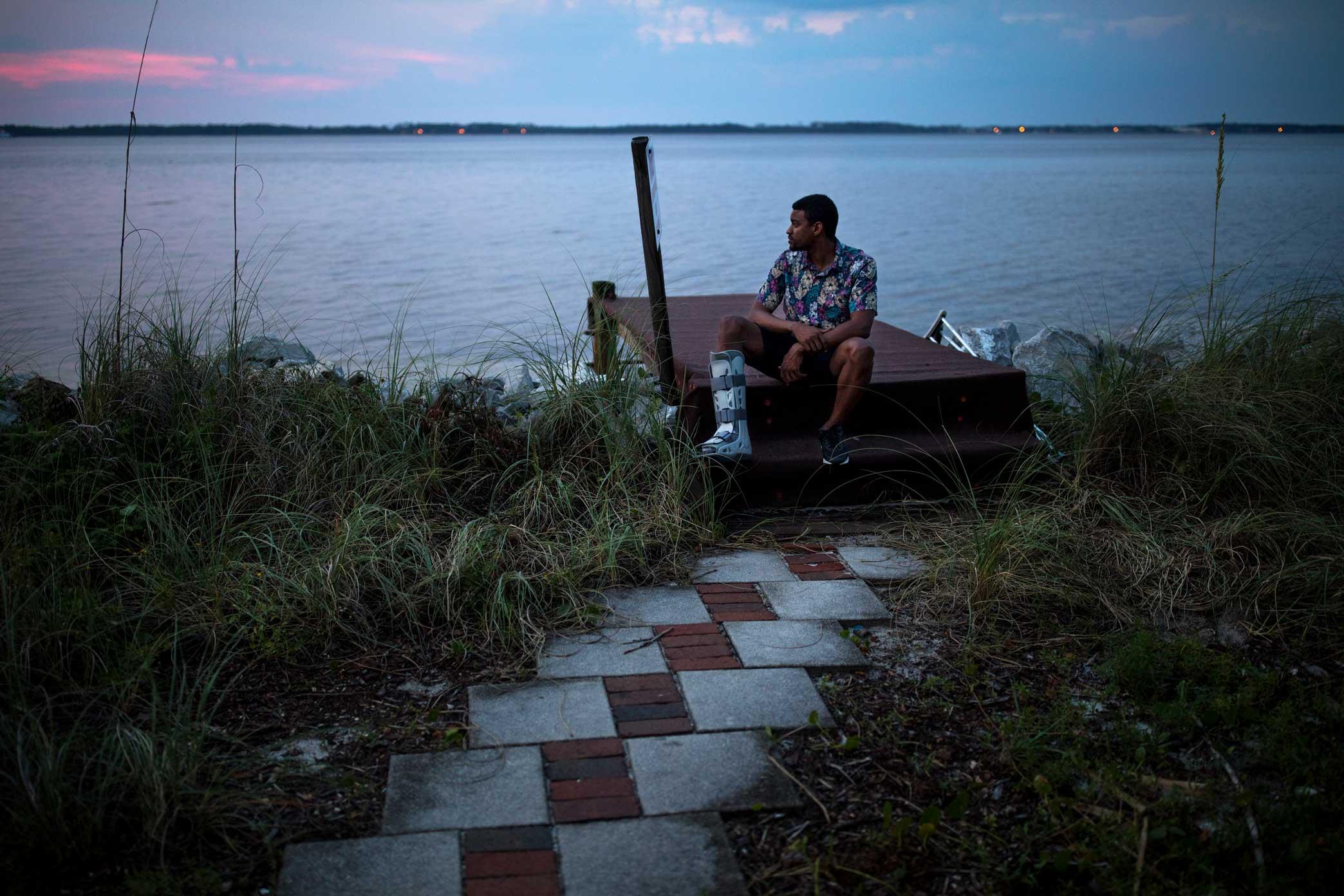 Self Portrait. Pensacola, Florida. 2017. Canon 5D Mark IV