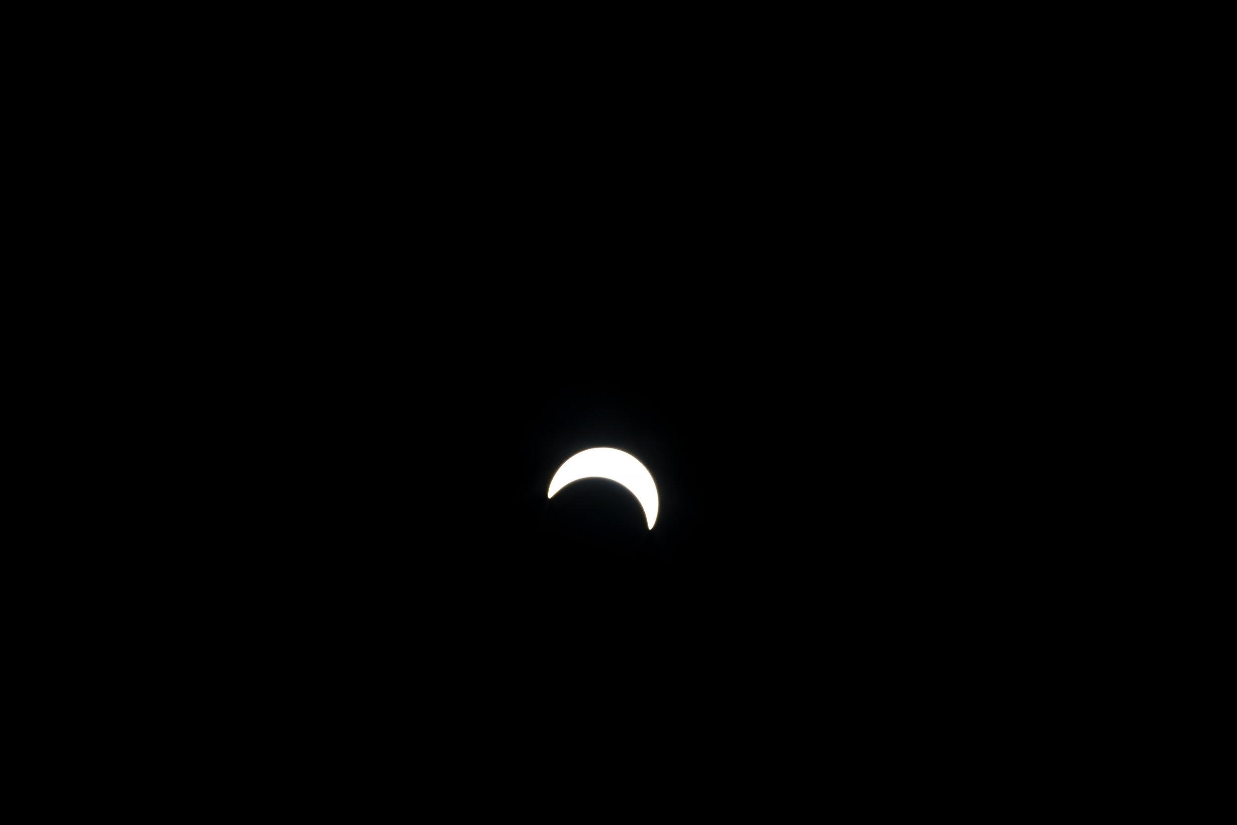 Solar Eclipse Brooklyn, New York. 2017