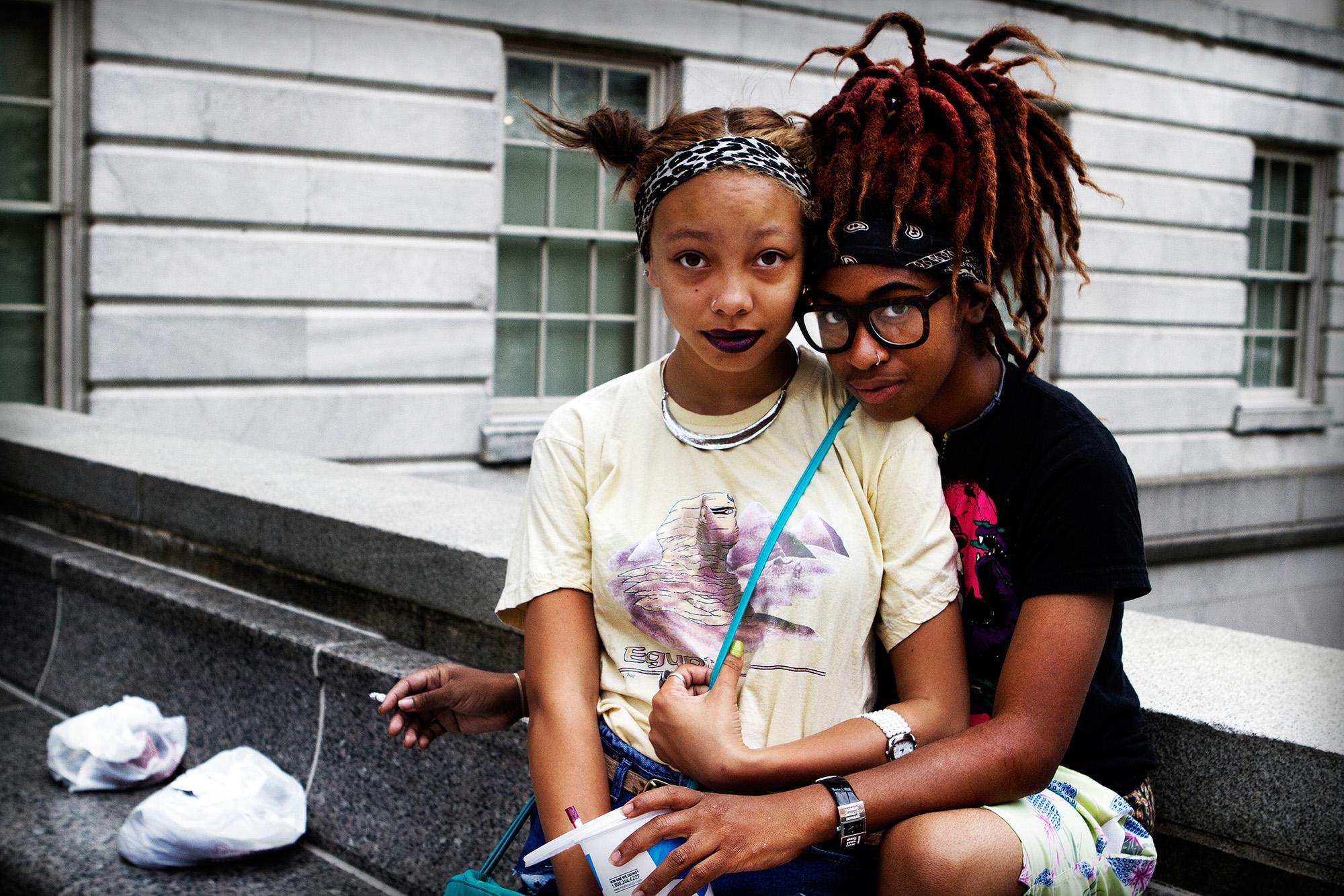 Young Love.  Washington D.C.