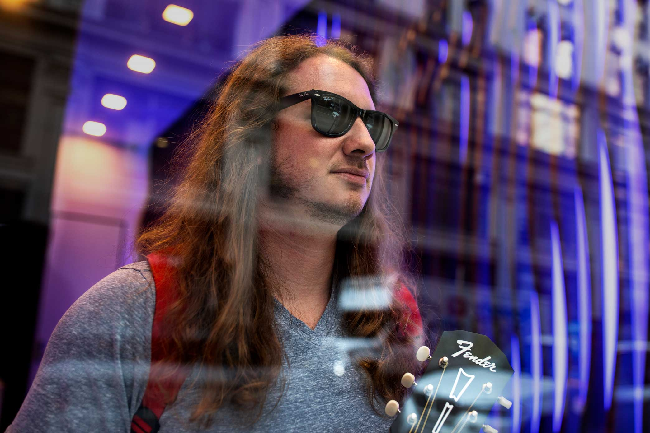 "Sports podcast host PFT Commenter's show, ""Pardon My Take,"" has more than 1 million listeners per episode. The man behind the character is is largely a mystery."