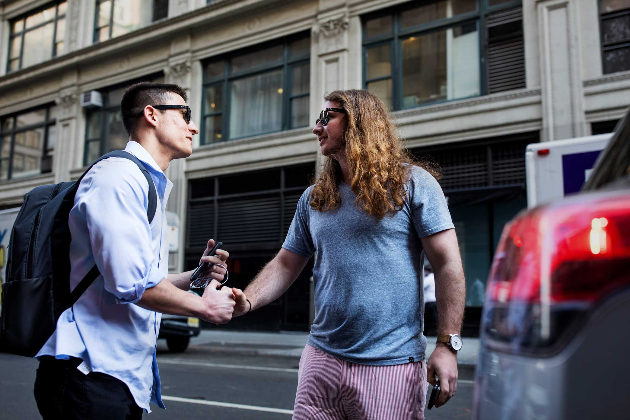 """Can I get your picture really quick, man? I'm your biggest fan,"" said a passerby, pulling out his ear buds. ""I was just listening to the show.""  PFT Commenter has maintained his anonymity even as his fame has ballooned."
