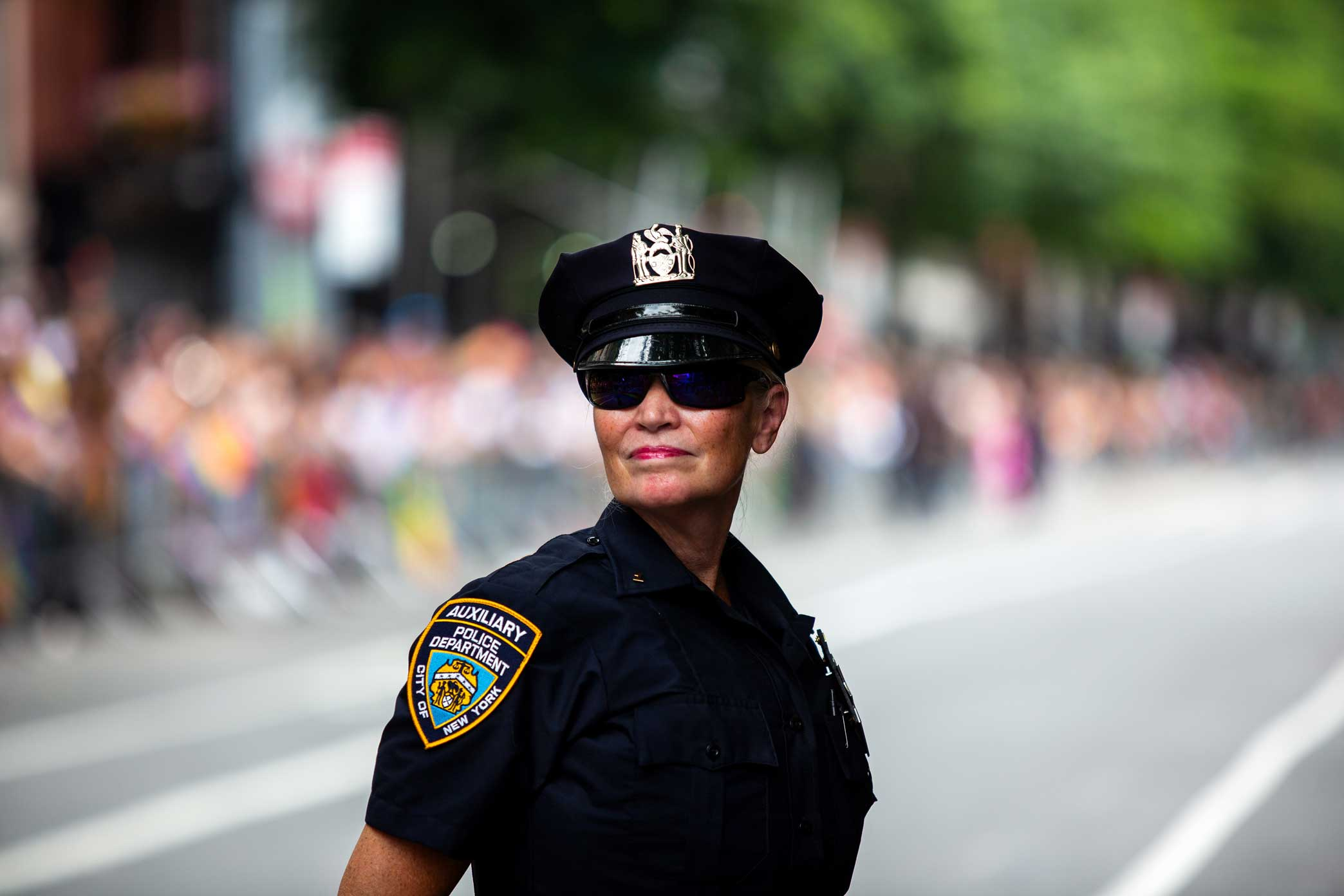 NYPD Auxiliary Officer.