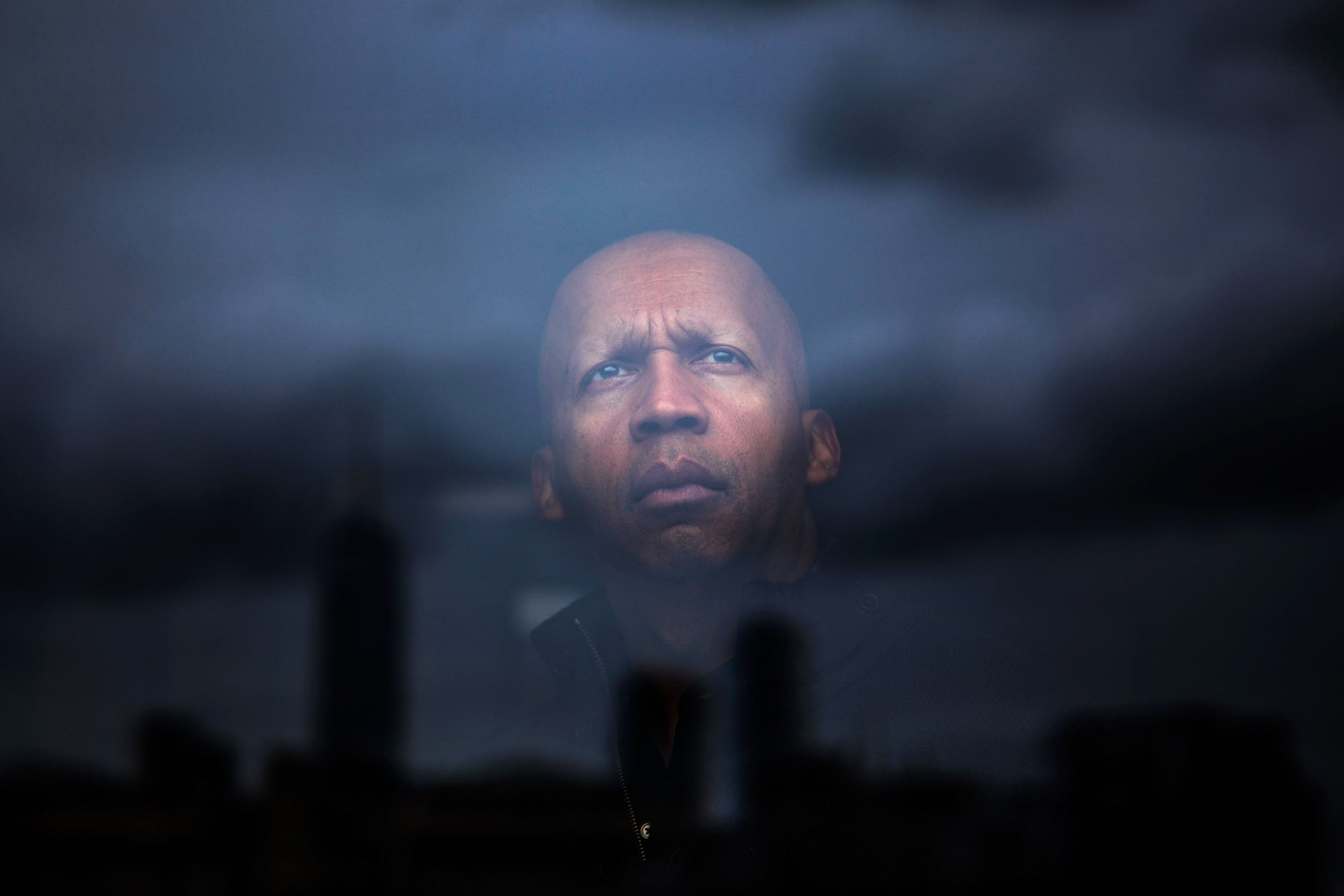Portrait of Bryan Stevenson, founder and Executive Director of the Equal Justice Initiative in Montgomery, Alabama, at The NYU Law Furman Hall in Manhattan, New York. Stevenson is a widely acclaimed public interest lawyer who has dedicated his career to helping the poor, the incarcerated and the condemned.