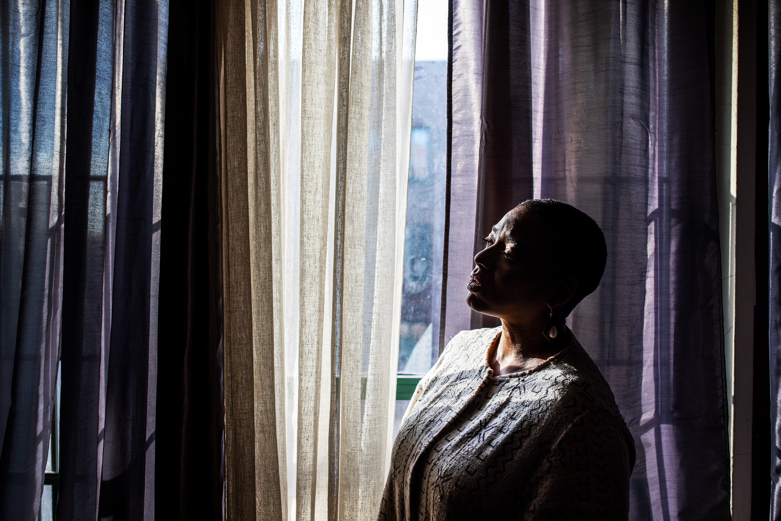 "Parent Advocate Hope Newton a parent Advocate at the Center for Family Representation at her home in the Bronx, New York. ""It's like a scarlet letter,"" said Hope Lyzette Newton, whose name was included on a New York State list of people who mistreat children after an allegation of corporal punishment. The charge was dismissed, but her name was not removed."