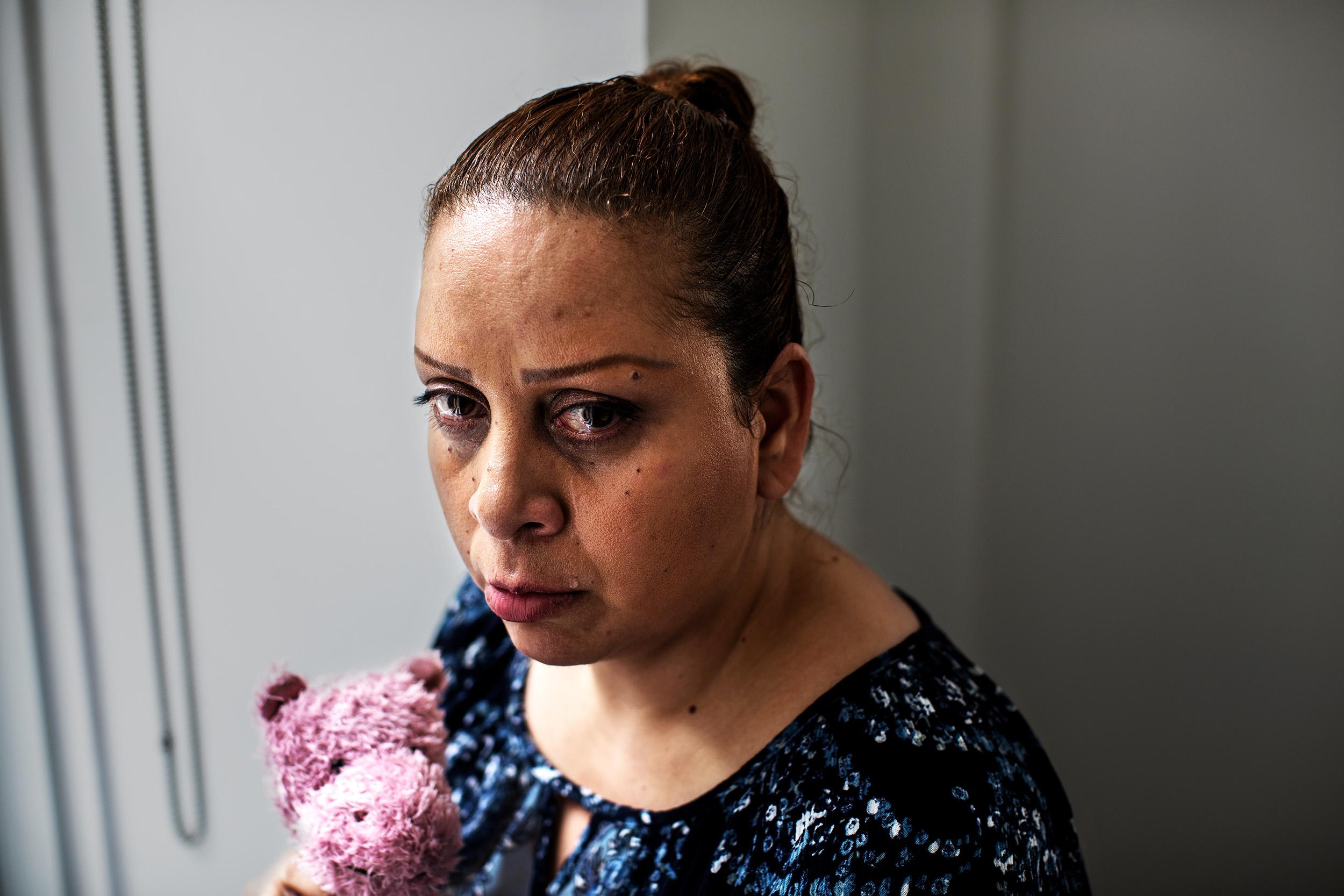Barbara Melendez in Manhattan, New York. Barbara Melendez is a caretaker for her sister, an adult resident of the Union Avenue I.R.A Bronx facility. A 2016 civil rights lawsuit was filed on behalf of the sister and two other residents for abuse from employees at the facility.