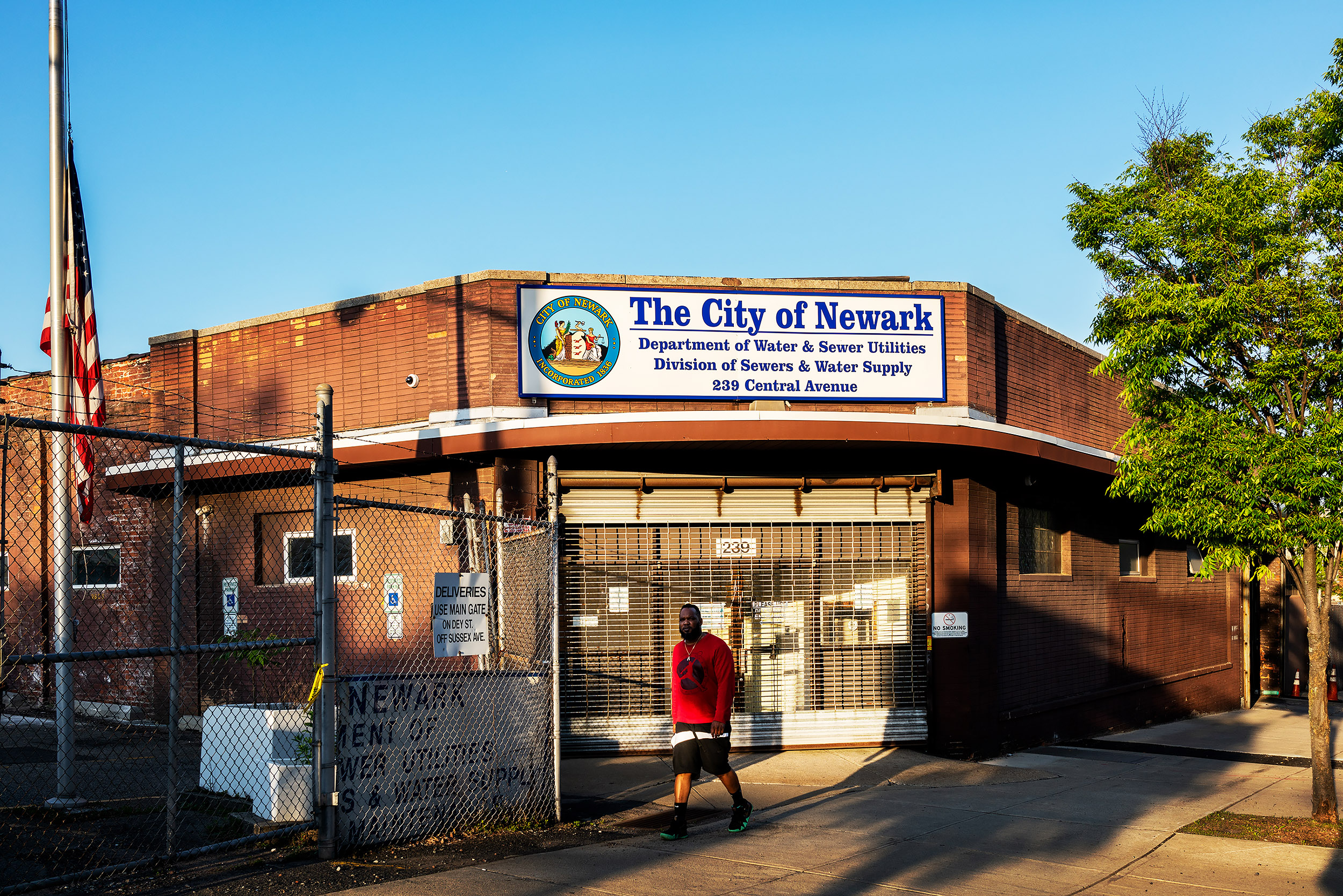 Only certain Newark residents have access to free water filters at limited distribution points.