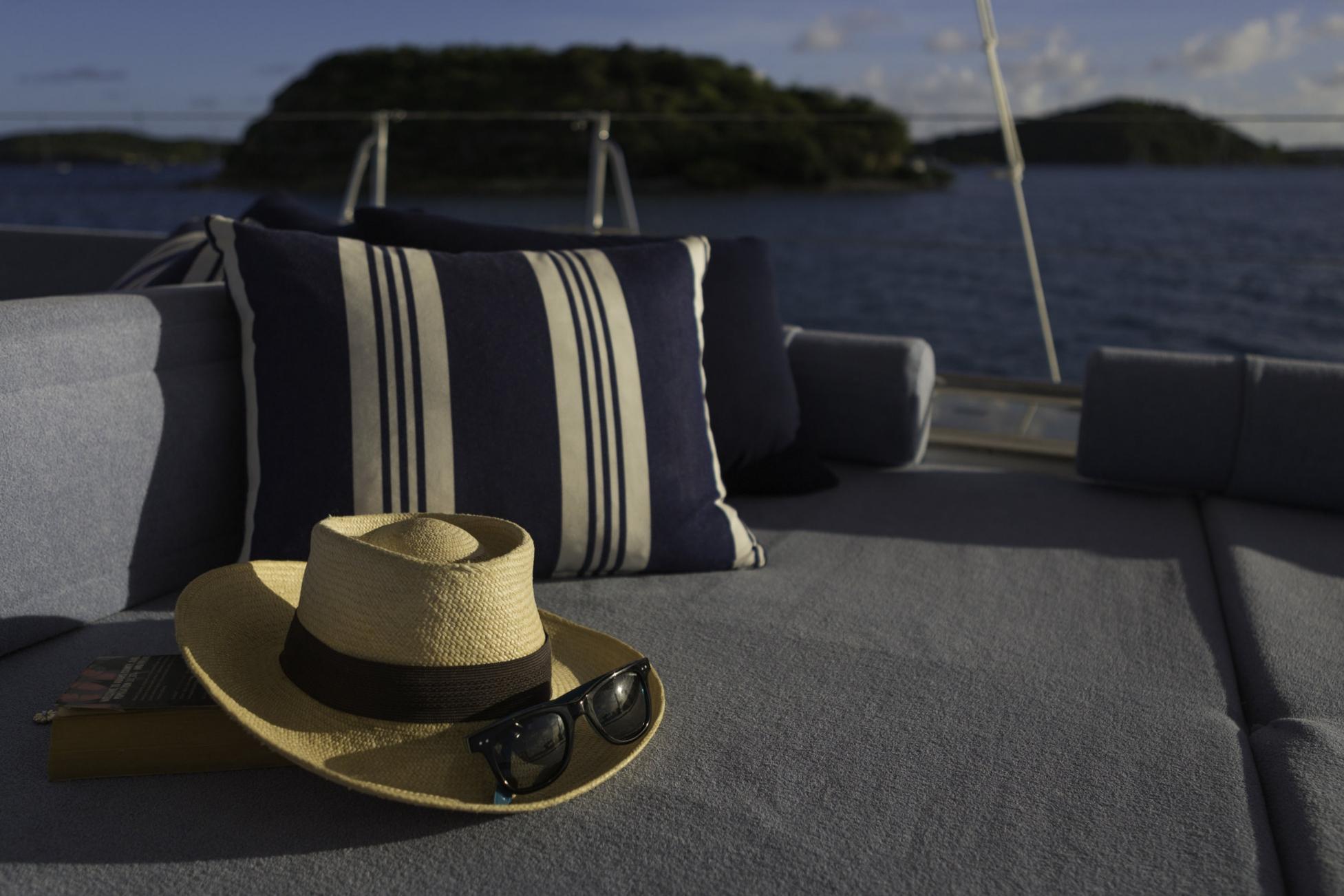 Yacht Farfalla amenities