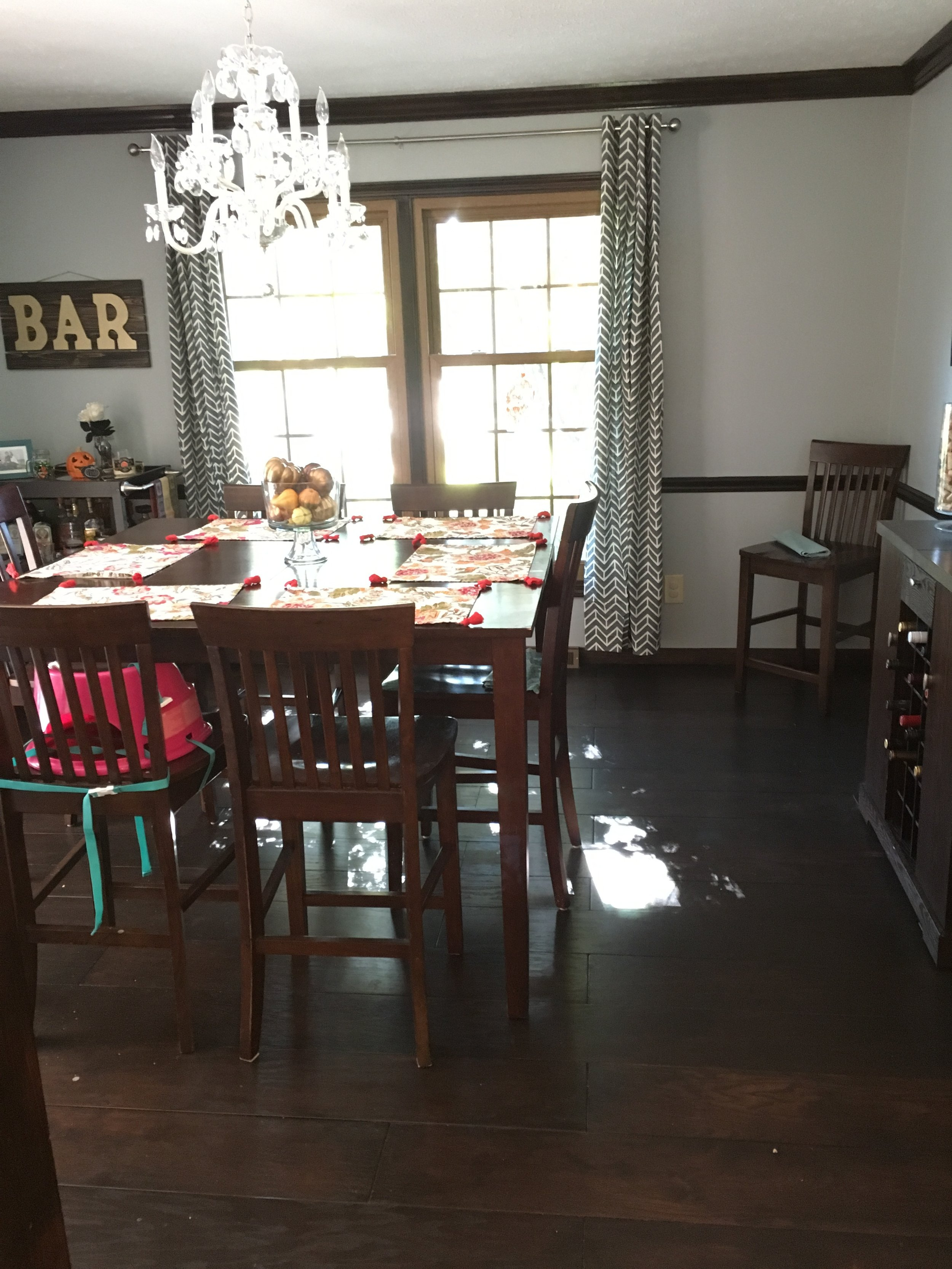 Dining room after!