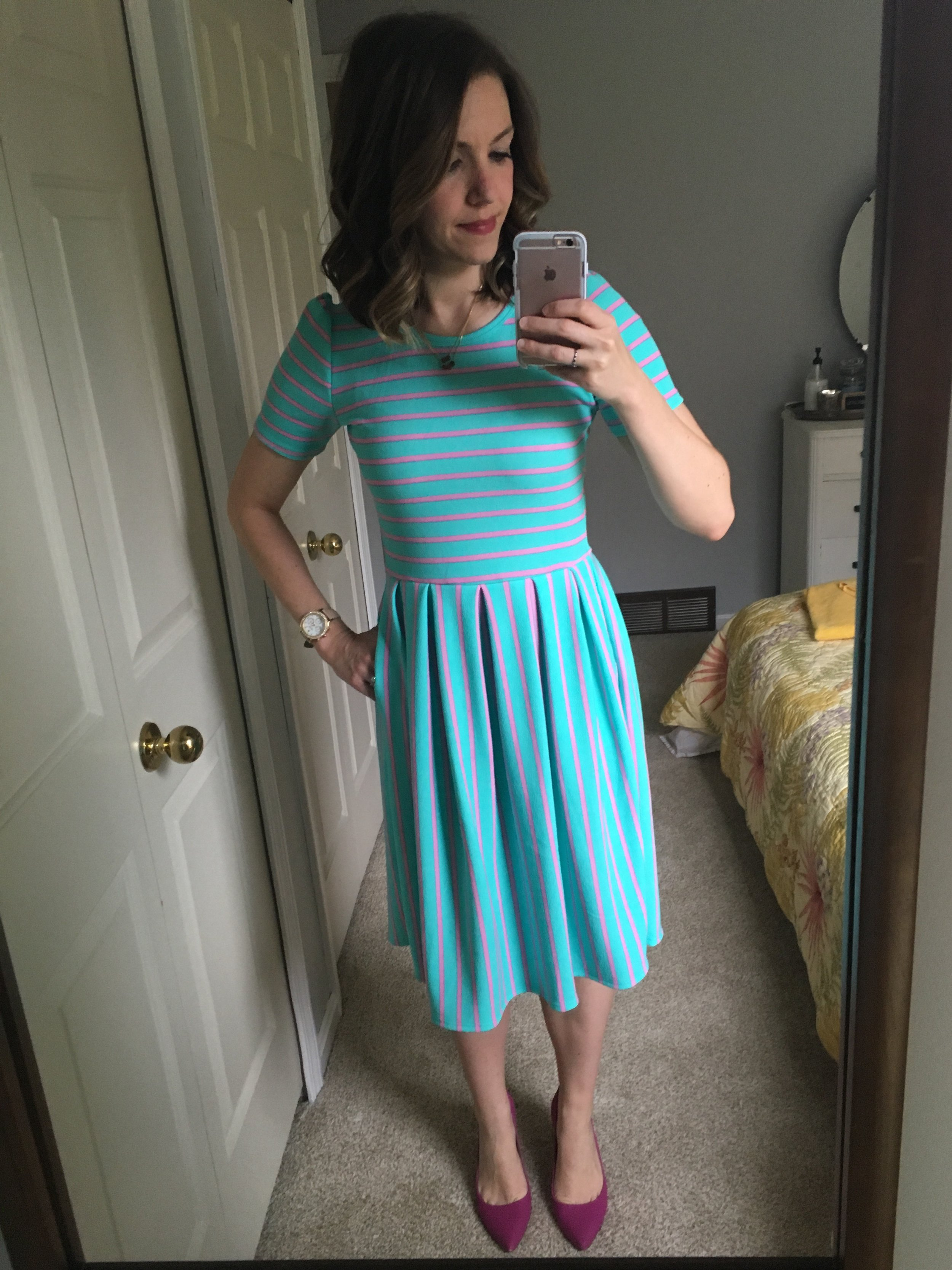 This quickly became my favorite Lula dress