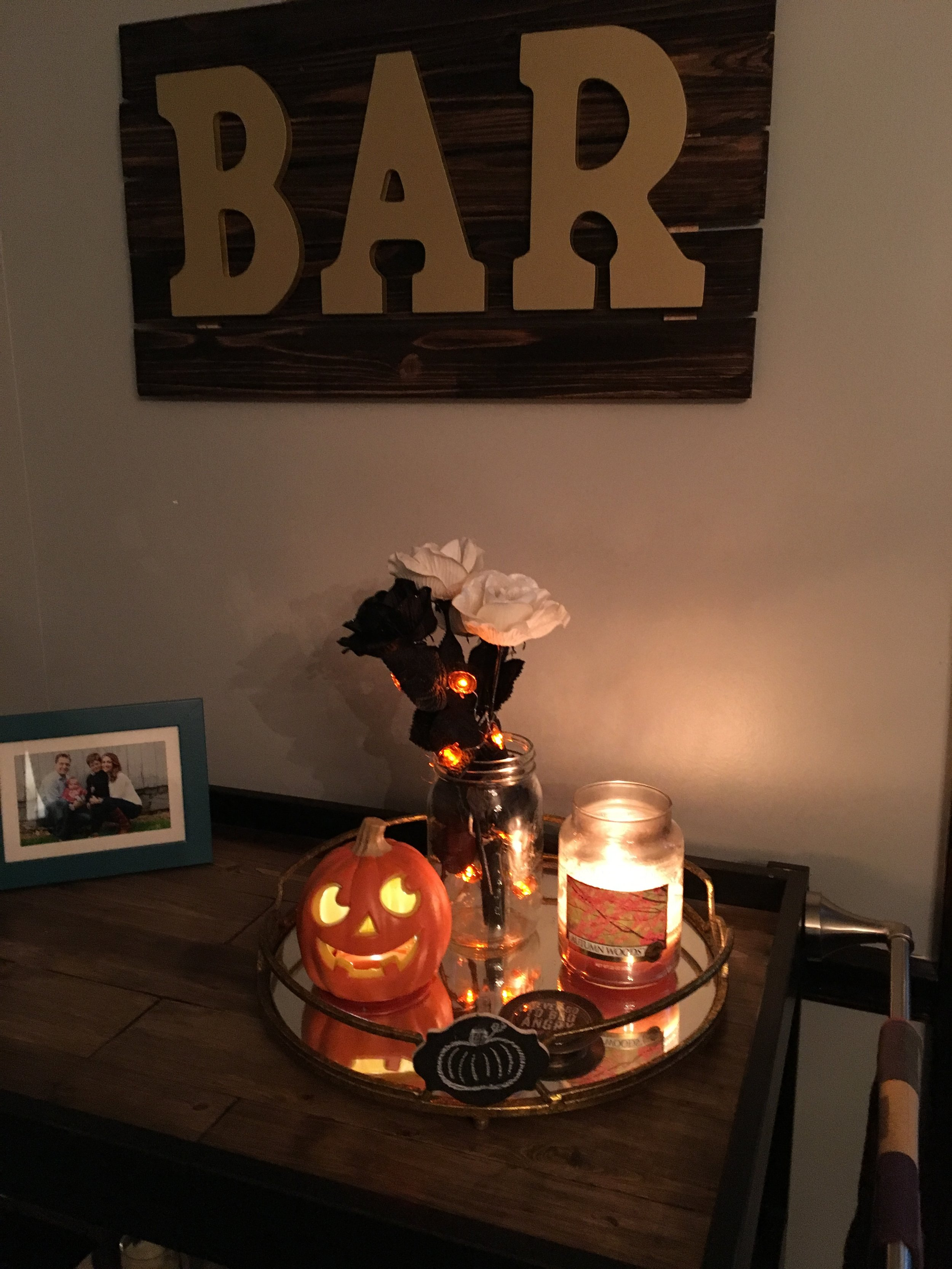 Halloween decorations - I LOVE Halloween by the way!