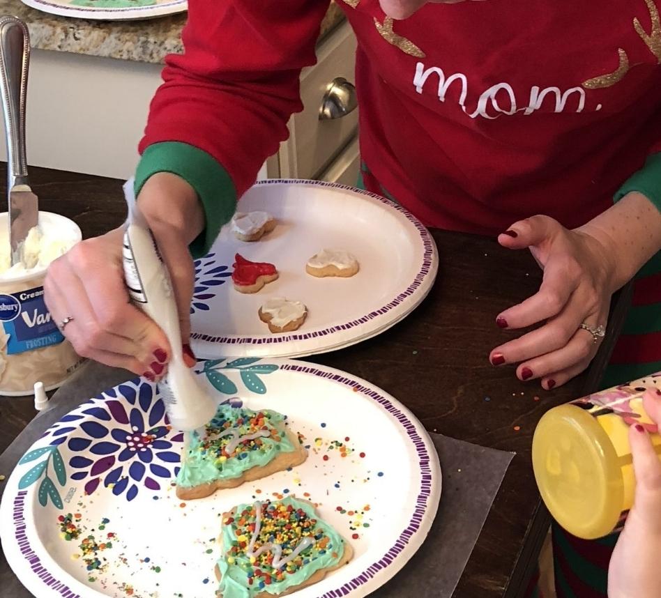 surviving Christmas morning baking