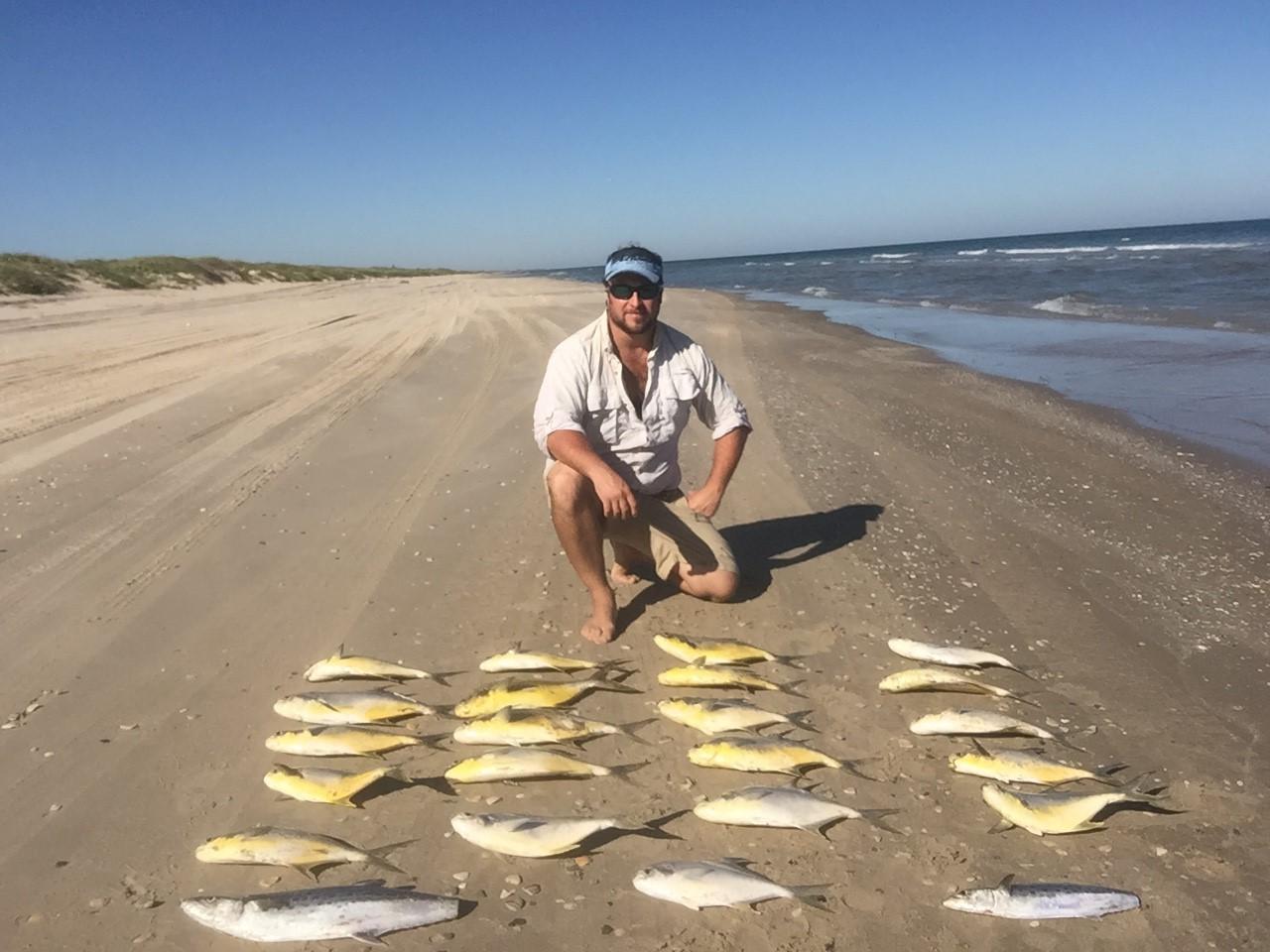 21 Pompano, 2 Spanish Mackerel