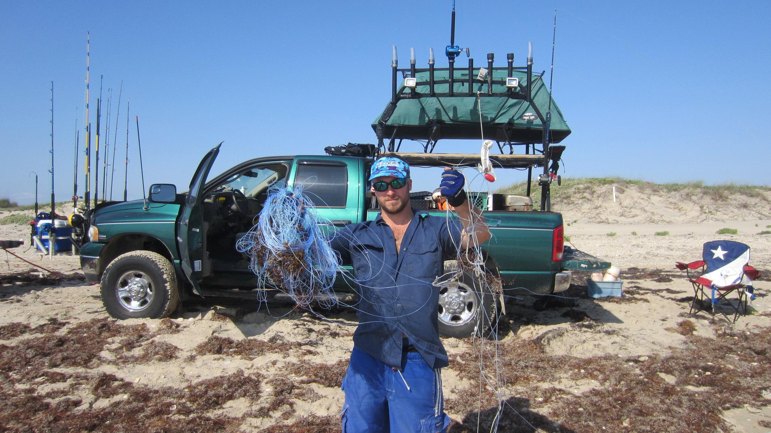 Seaweed ruined topsheet, heavy weed season year