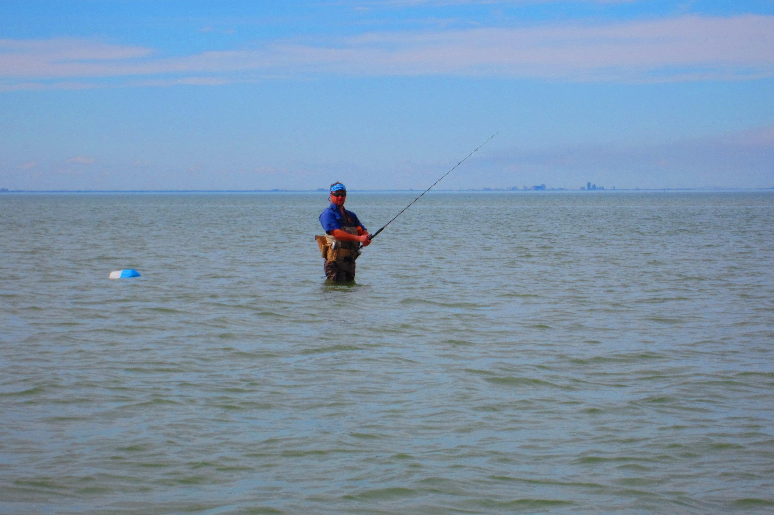 Wadefishing