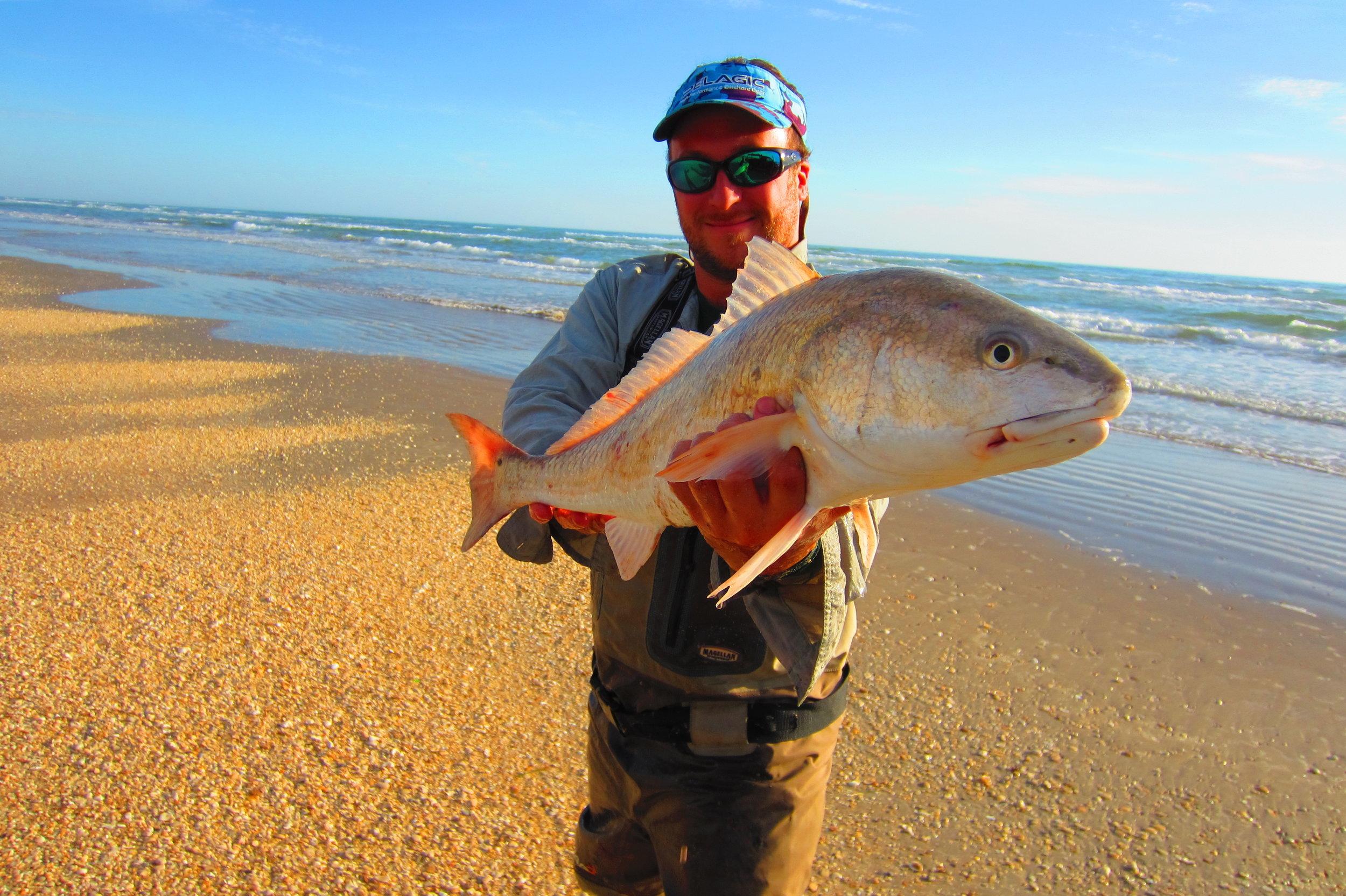 January Bull Redfish, High Banks