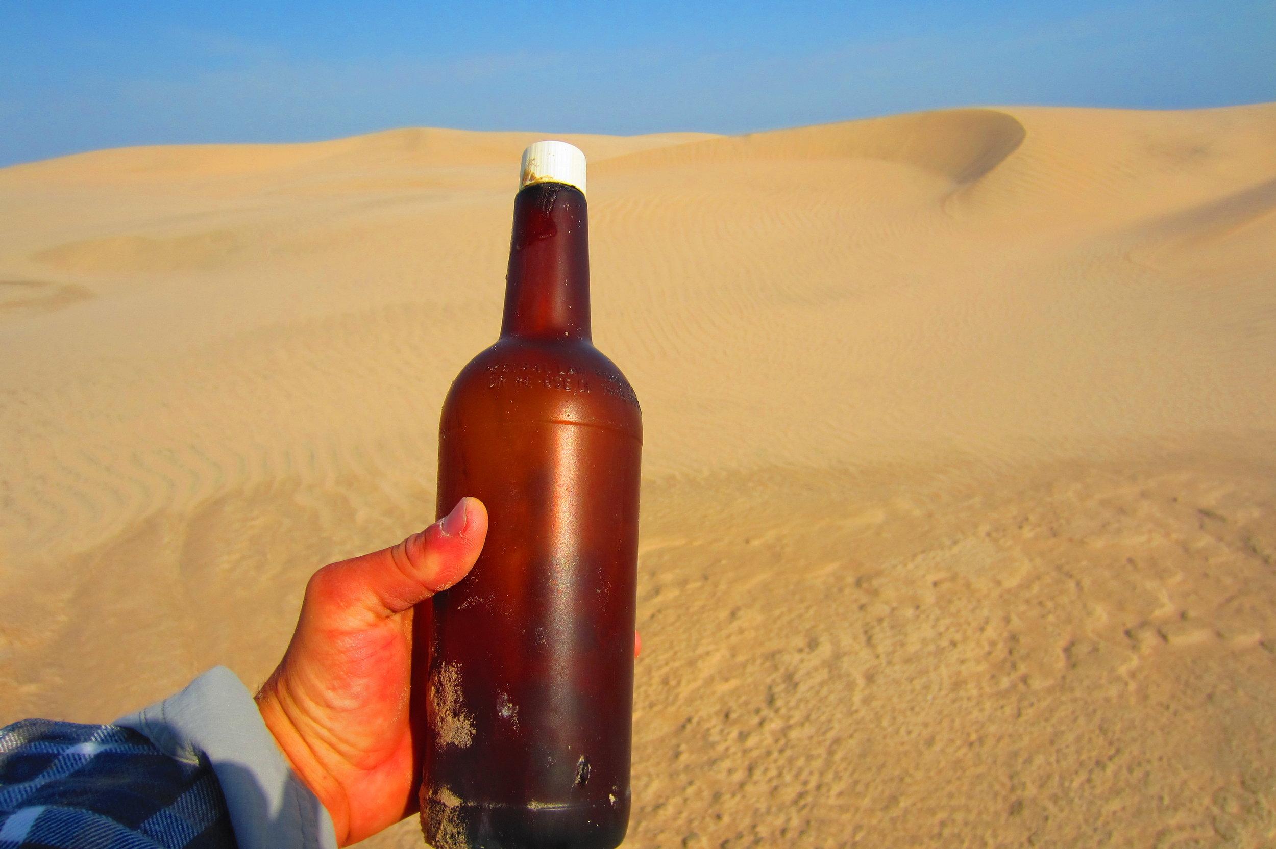Old bottle.