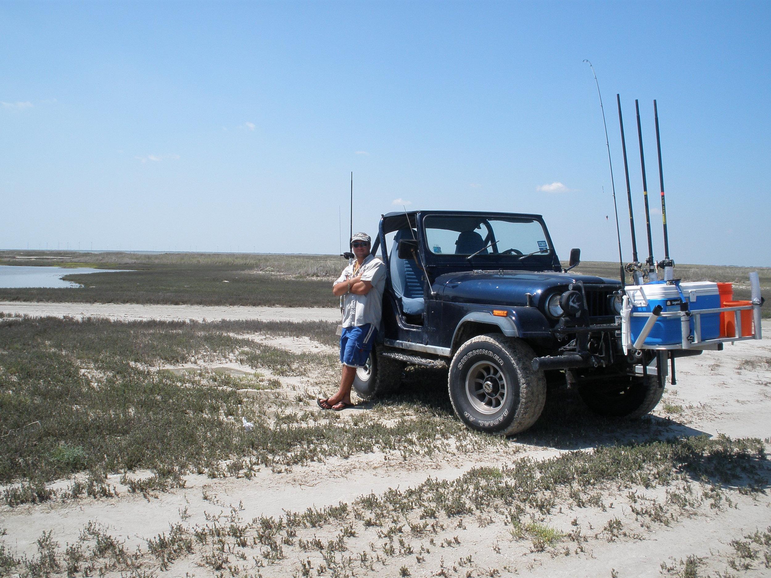 Fishing Back Island Road, Laguna Madre