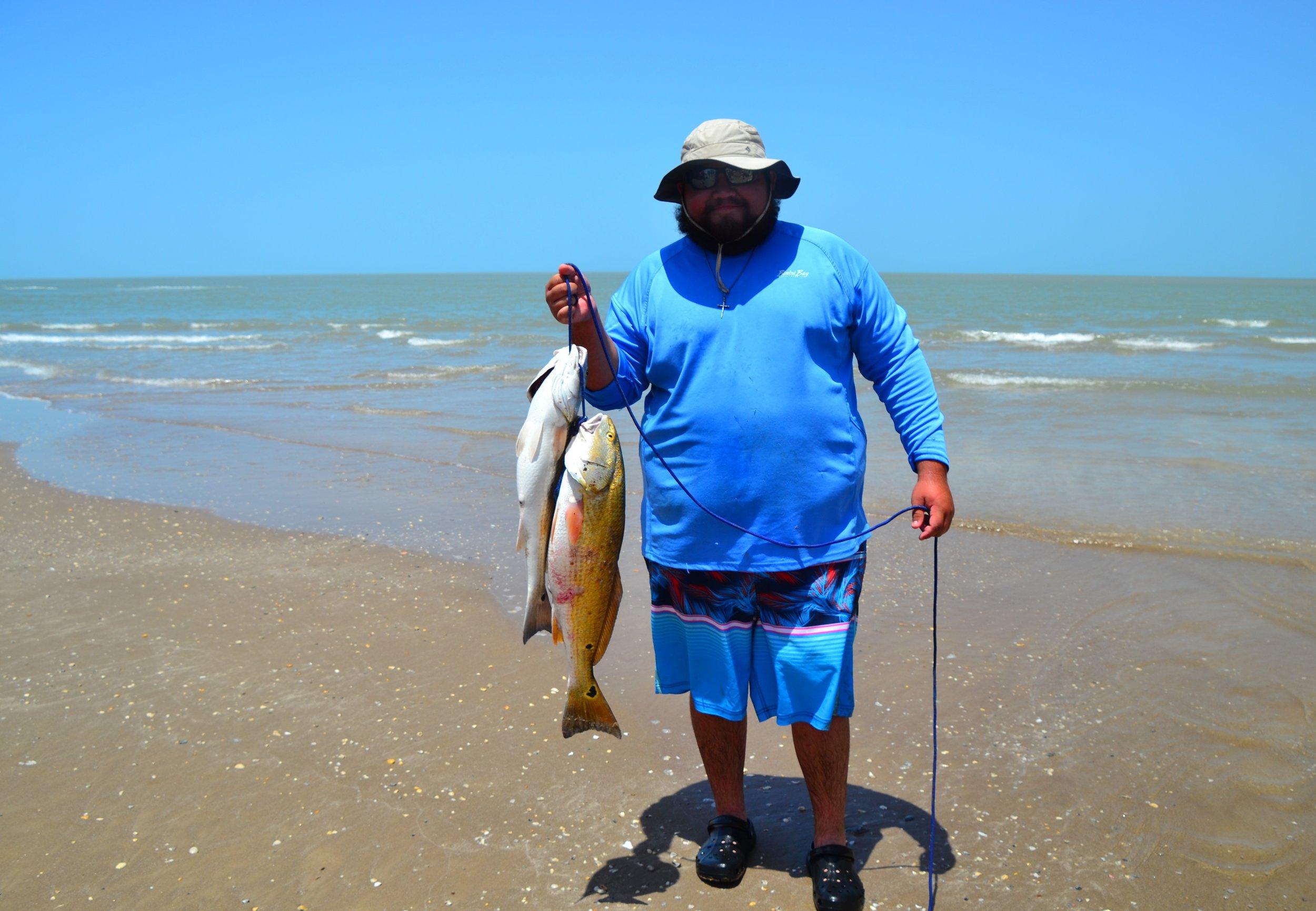 Two slot redfish!