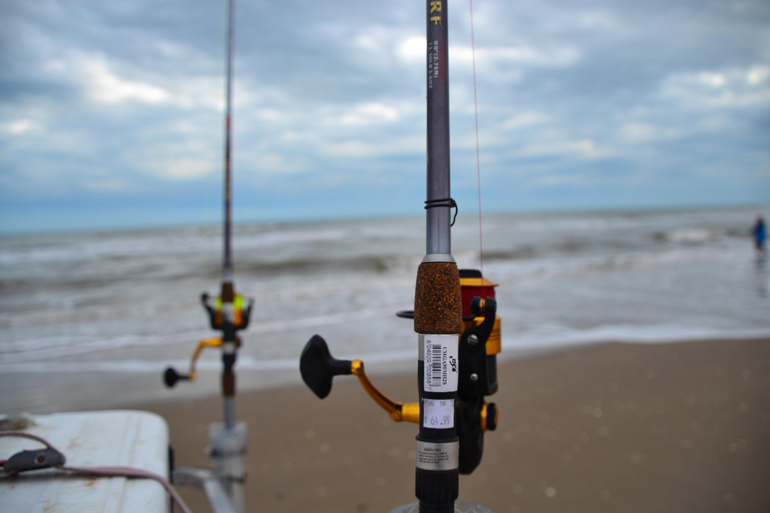 Bait fishing!