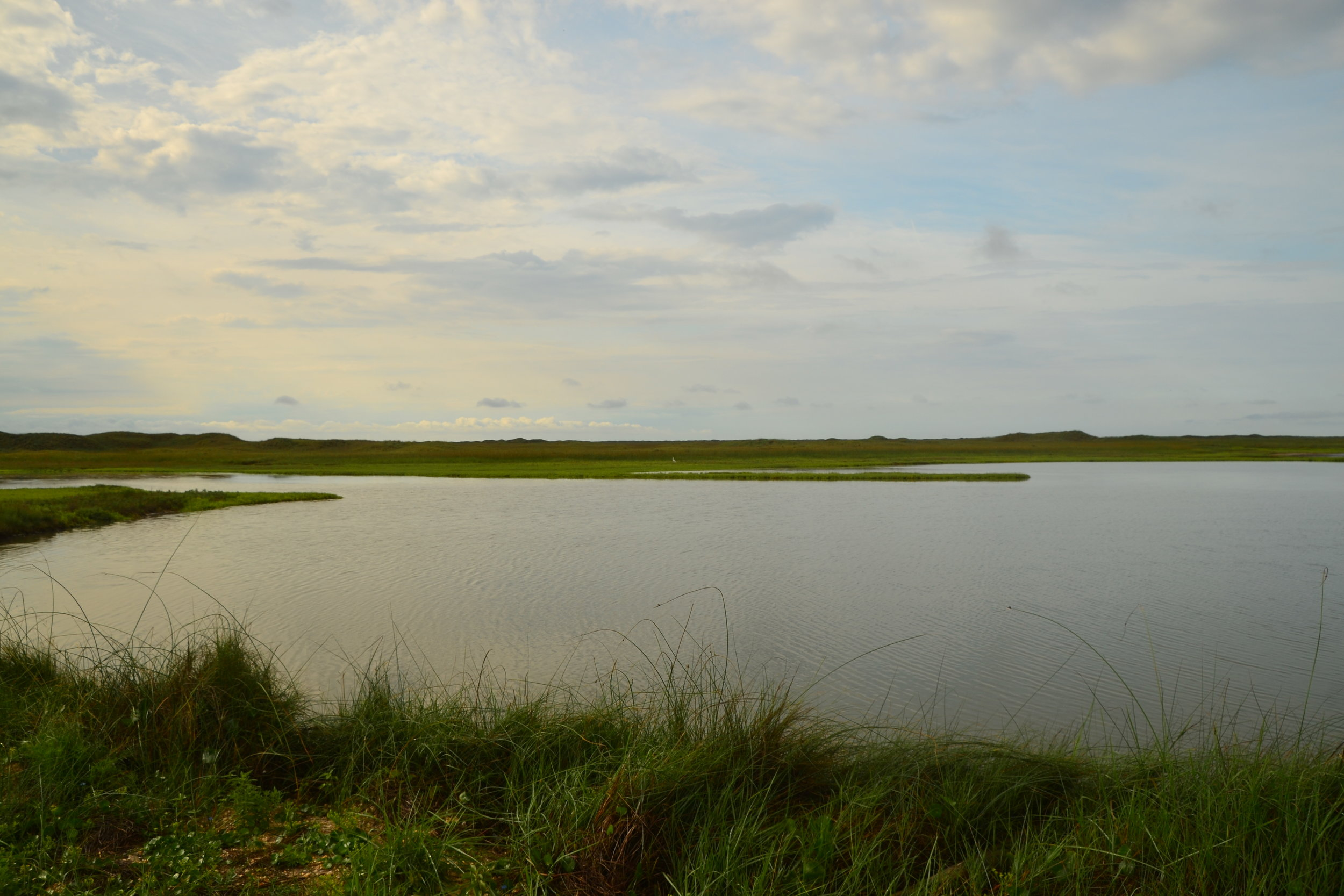 Quiet Laguna Madre morning.