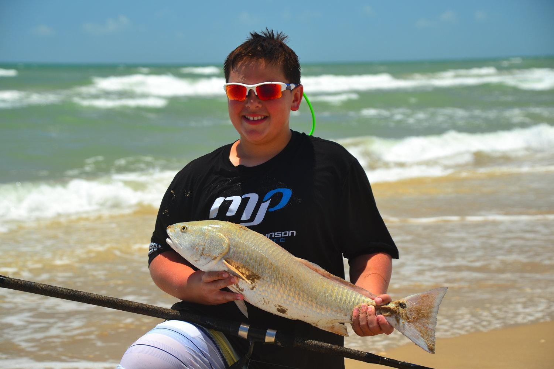 July redfish.