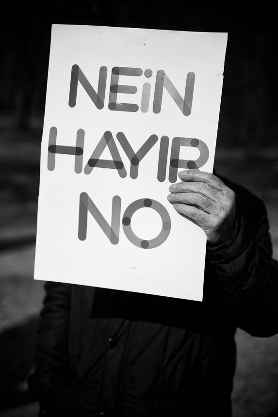 Protest gegen angeblichen Besuch des türkischen Sportministers