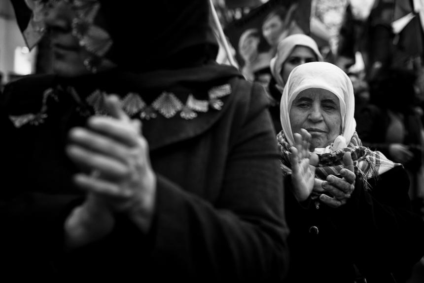 Kurden demonstrieren zum Newroz Fest in Berlin