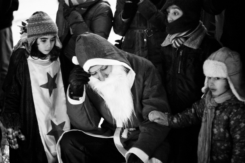 """Syrian rally in Berlin: """"The children of Syria: between suffering and hope"""". 2012."""