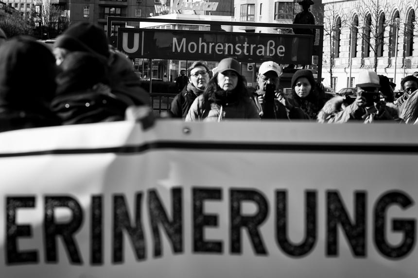 Gedenkmarsch in Berlin zur Erinnerung an die Opfer von Sklaverei