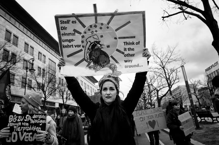 Vegan Move: Vegane-Demo für Tierrechte in Berlin