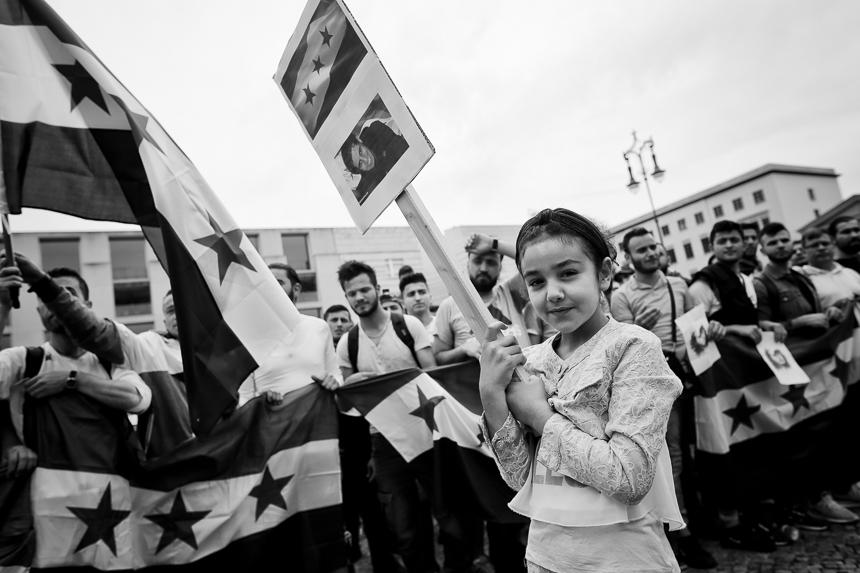 Gedenken an den syrischen Freiheitskämpfer Abdul Baset al-Sarou