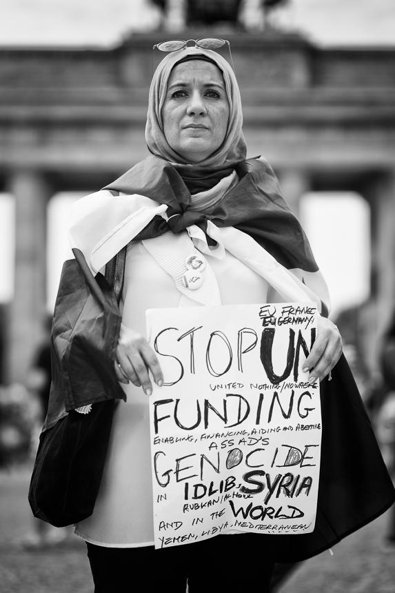 """Protest gegen das Regime in Syrien: """"Berlin Für Idlib - We Are"""
