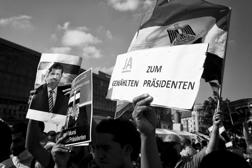 Kundgebung in Neukölln unterstützt den gestürzten Präsidente