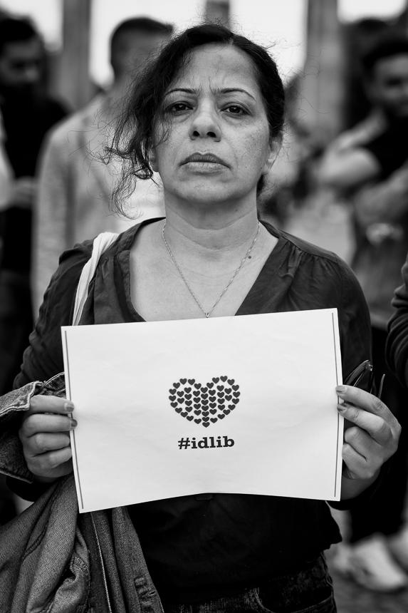 "Berlin: ""Stoppt endlich den Massenmord in Idlib!"""