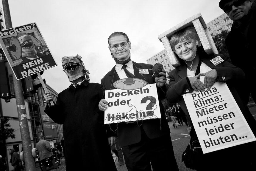 Tausende protestieren in Berlin für Mietendeckel und Enteignung