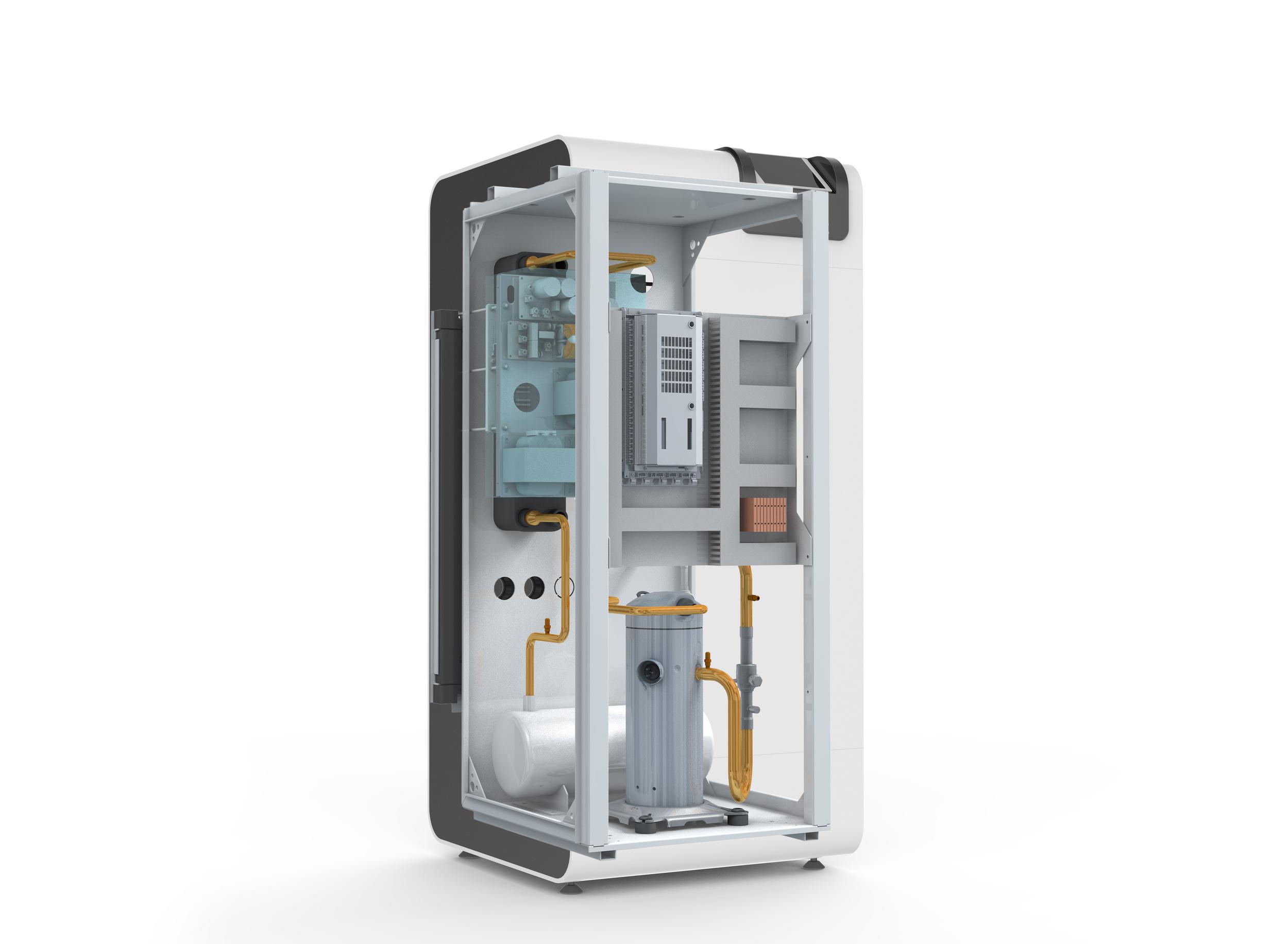 Pico Energy WPS 618 Inverter Ground Source Heat Pump Internal