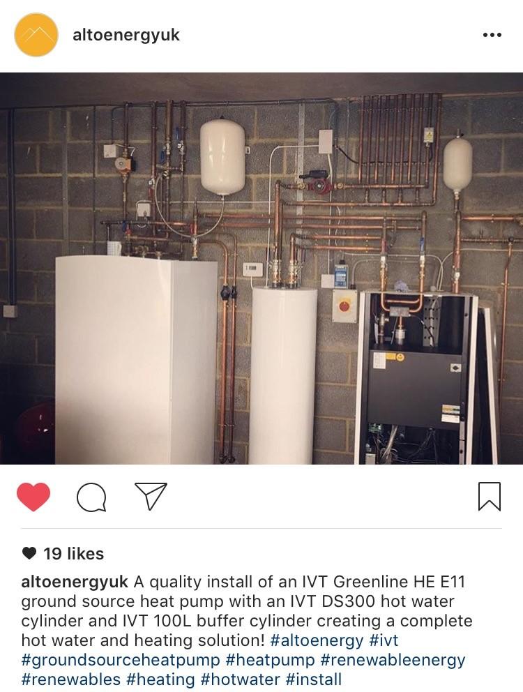 IVT Heat Pumps on Instagram