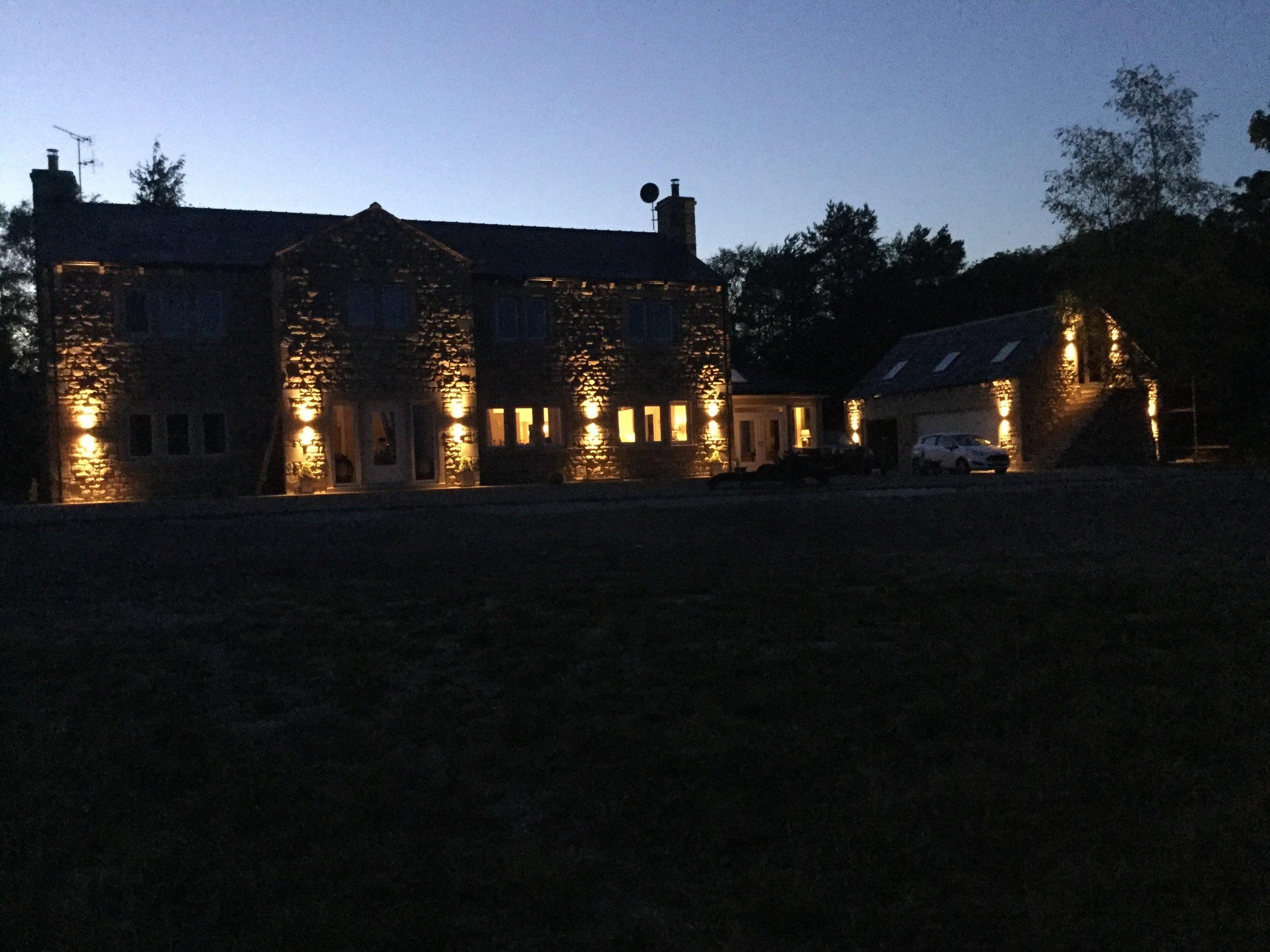 Property at Night