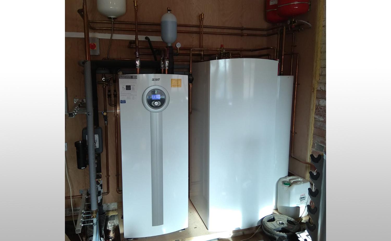 IVT Ground Source Heat Pump in Retrofit Property