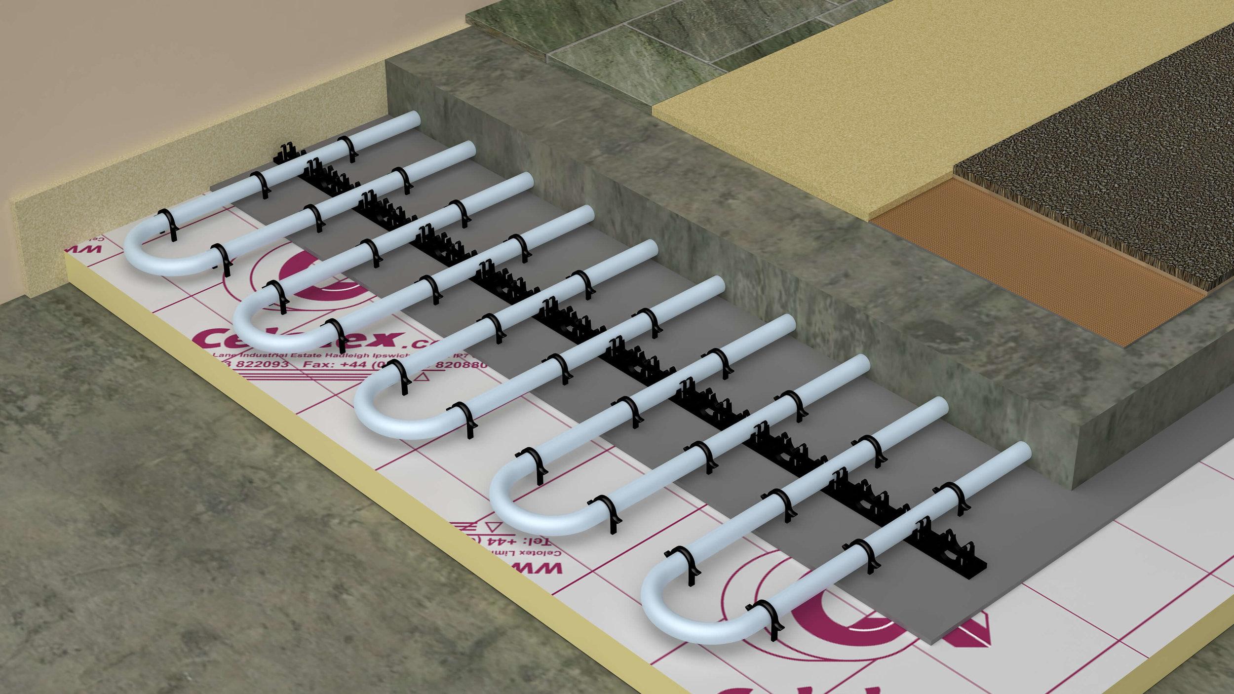 Screed Underfloor Heating