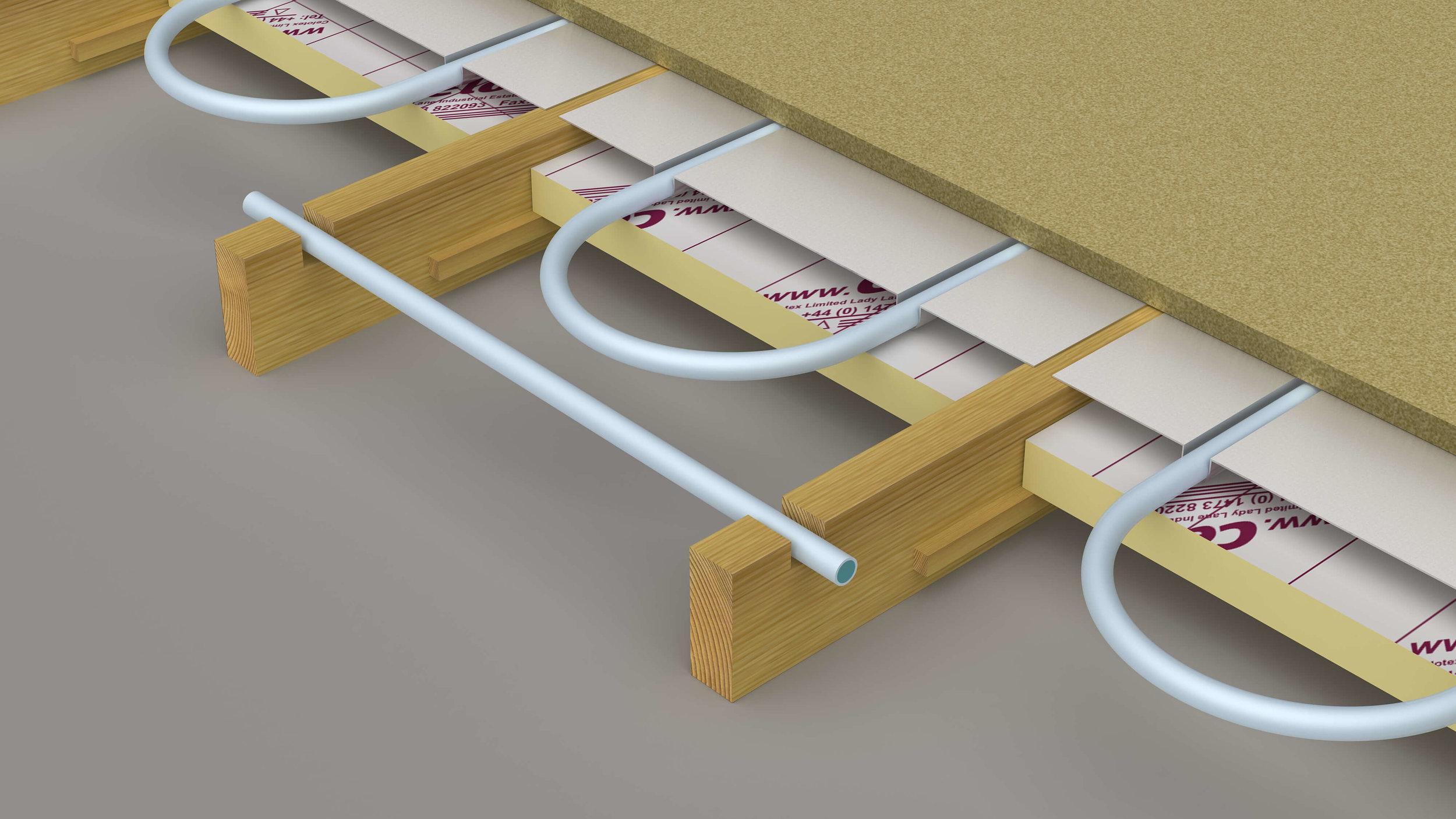 Plate Underfloor Heating