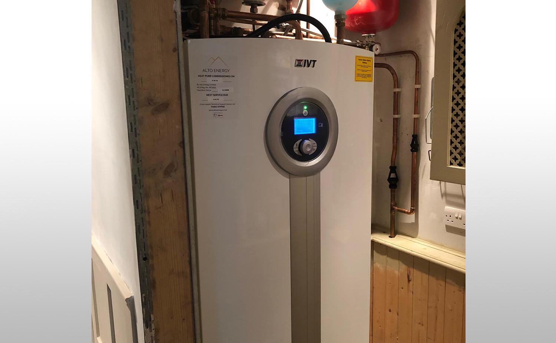 IVT Greenline HE C7 Ground Source Heat Pump