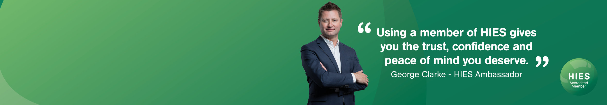 George Clarke - New Brand Ambassador for HIES