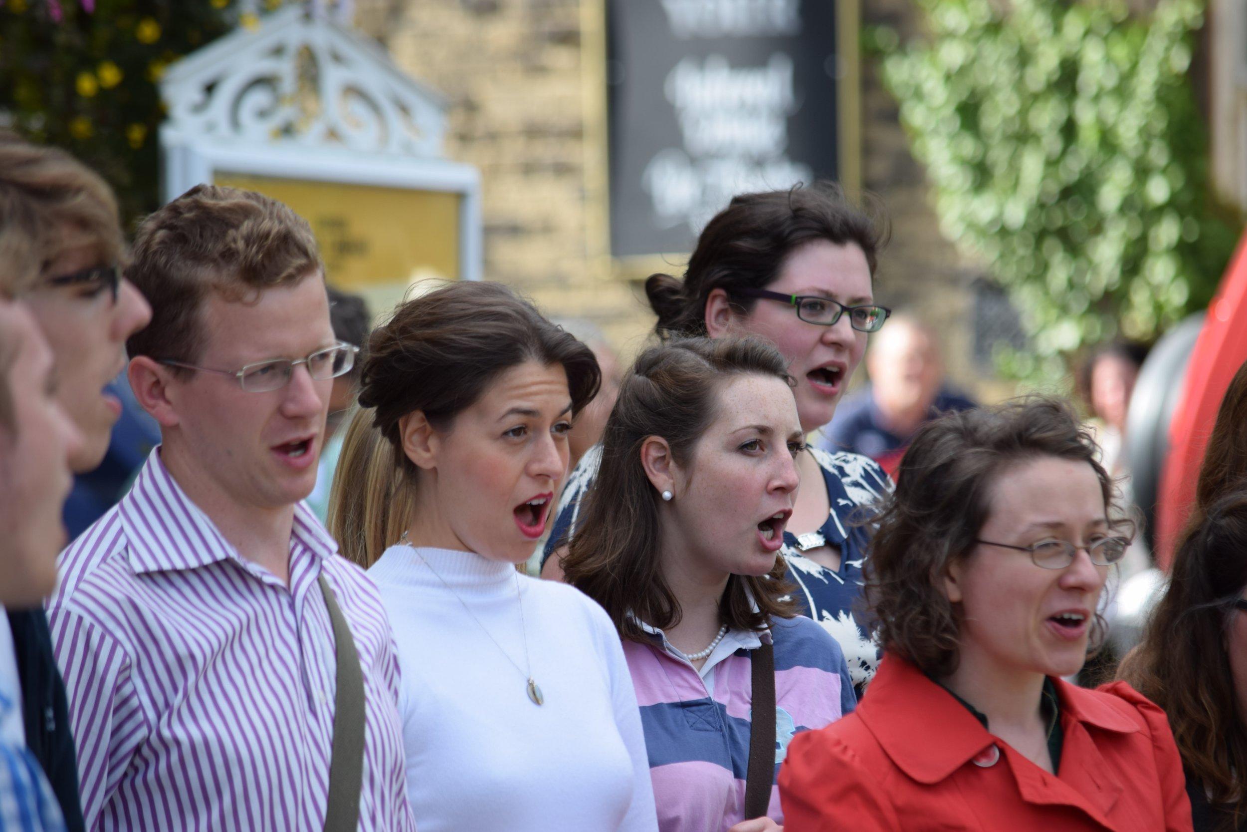 Flashmob, Buxton